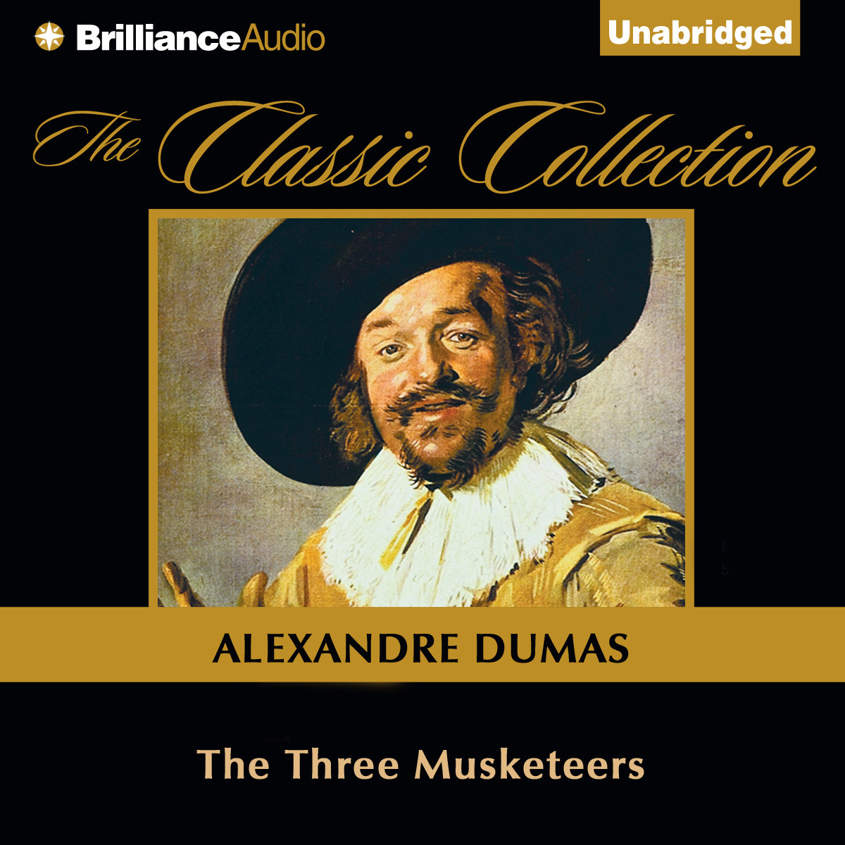 Printable The Three Musketeers Audiobook Cover Art