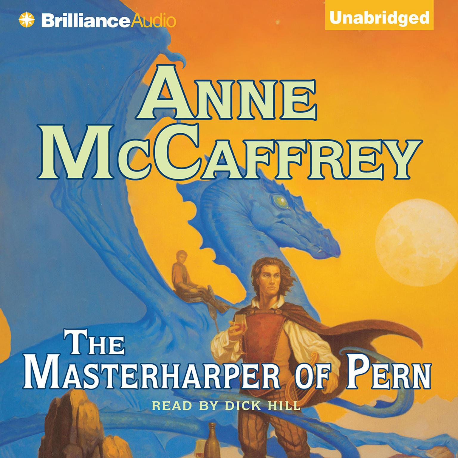 Printable The Masterharper of Pern Audiobook Cover Art
