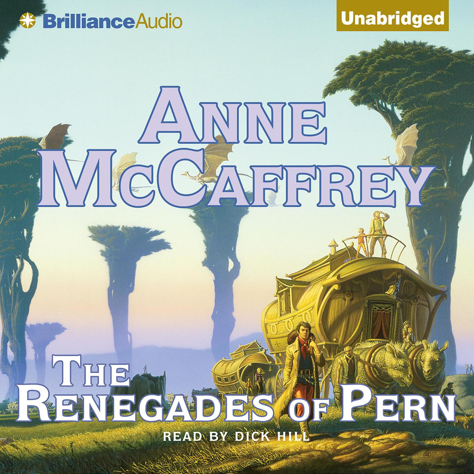 Printable The Renegades of Pern Audiobook Cover Art