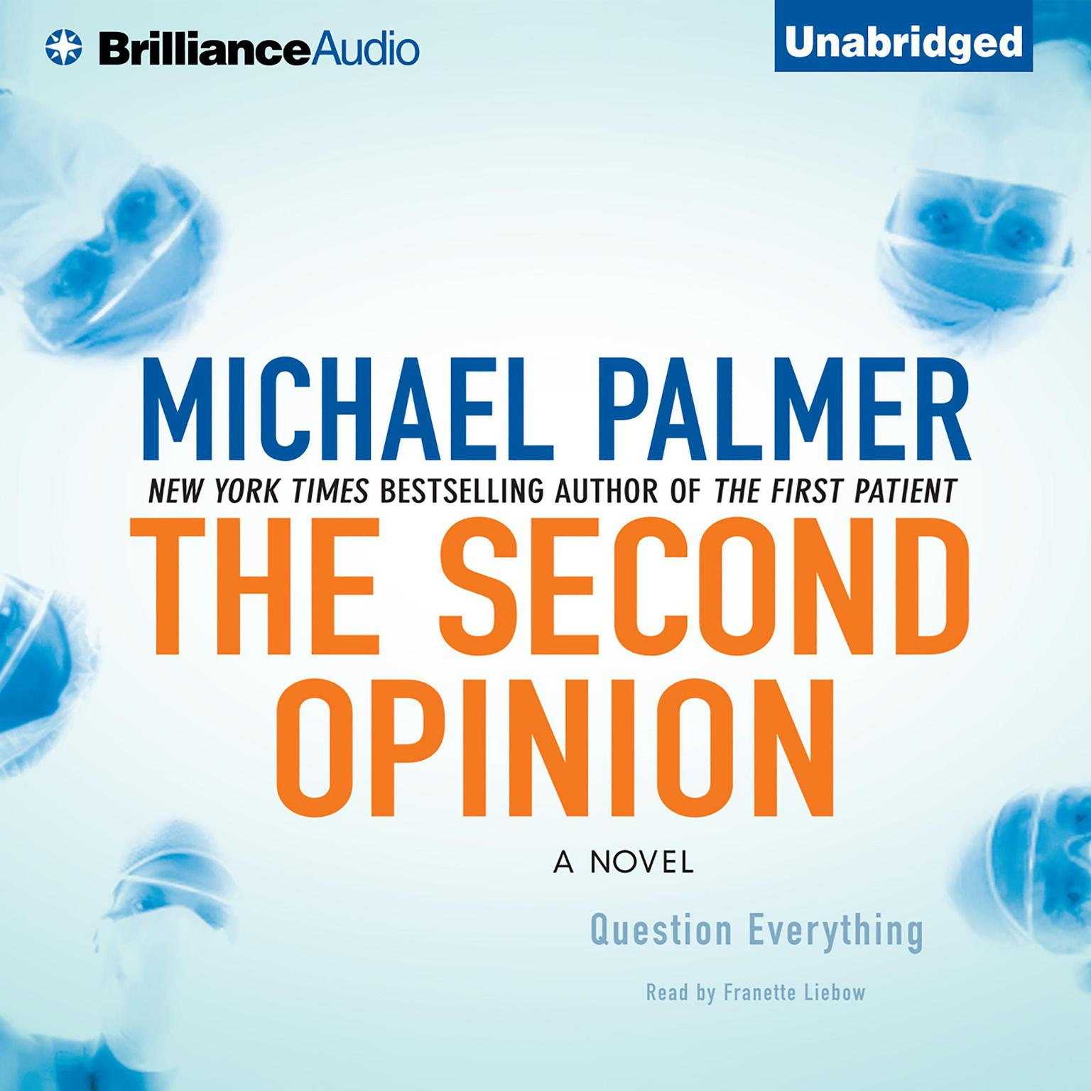 Printable The Second Opinion Audiobook Cover Art