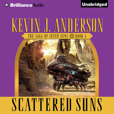 Scattered Suns Audiobook, by Kevin J. Anderson