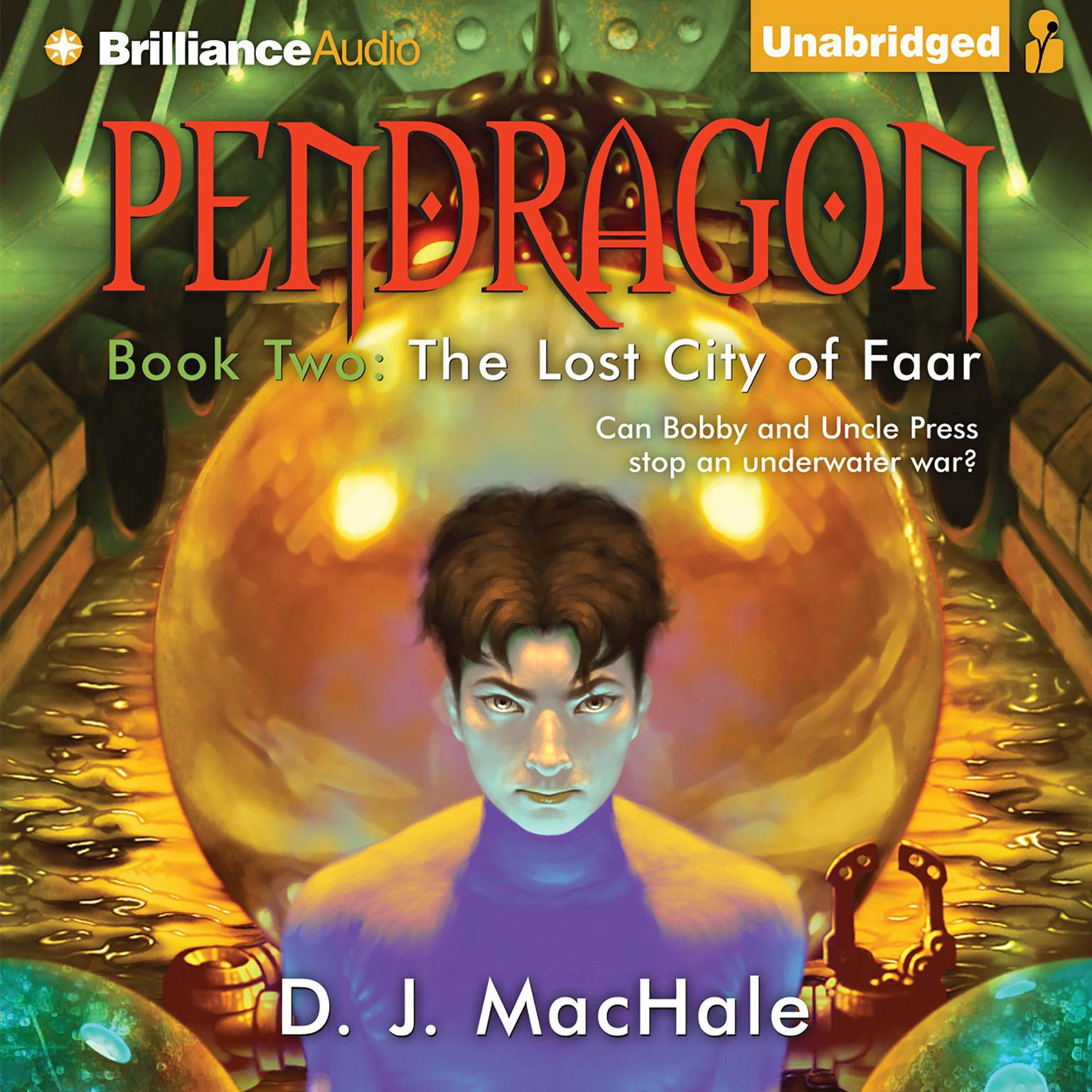 Printable The Lost City of Faar Audiobook Cover Art