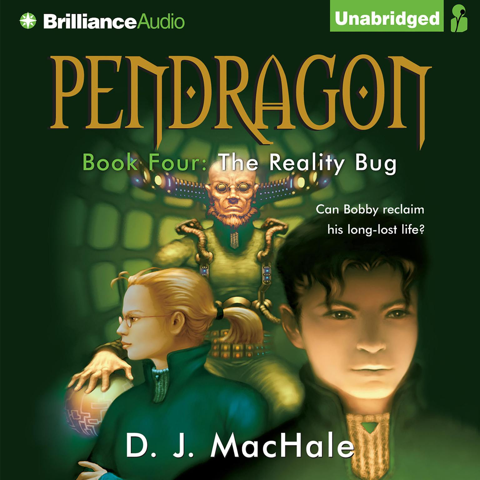 Printable The Reality Bug Audiobook Cover Art