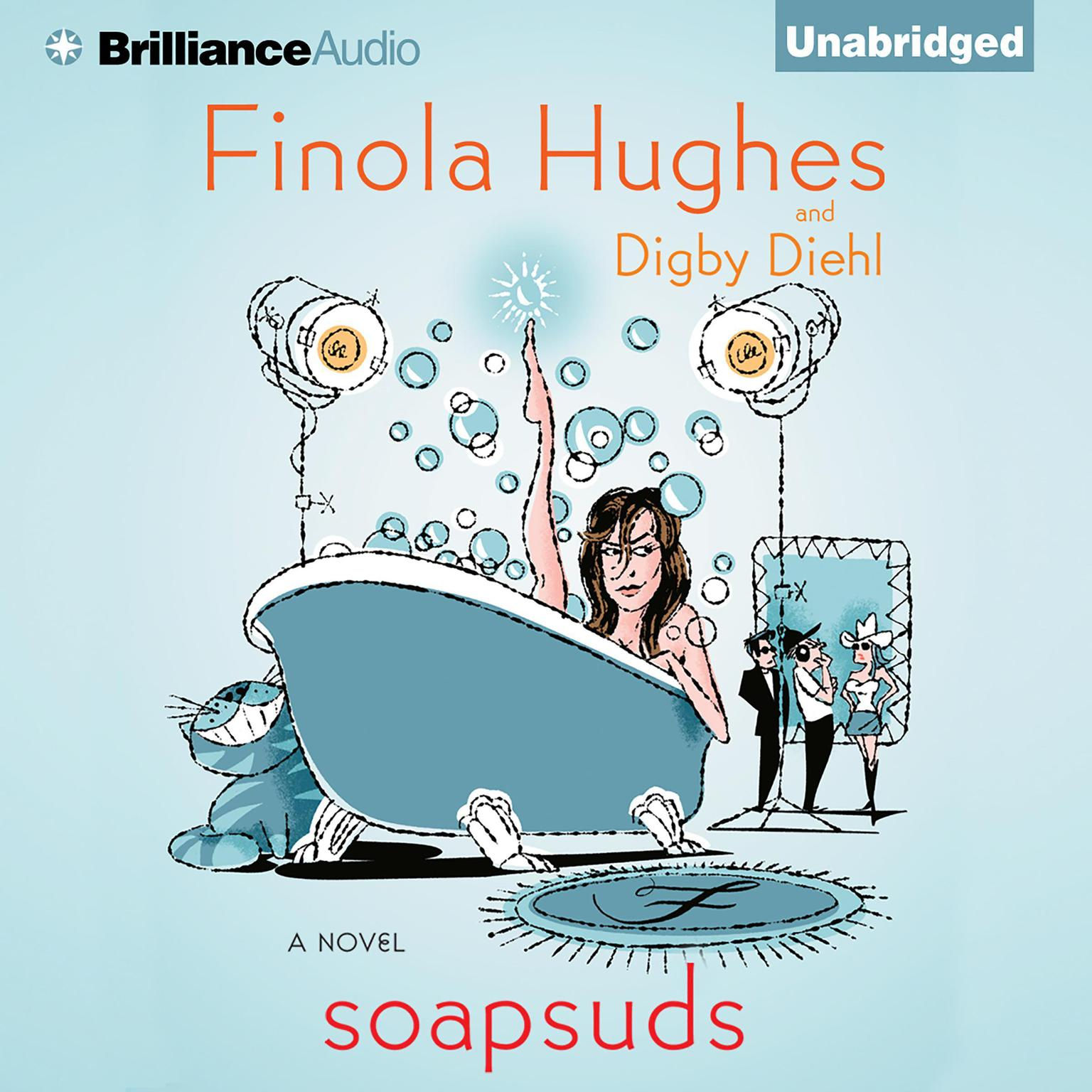 Printable Soapsuds: A Novel Audiobook Cover Art