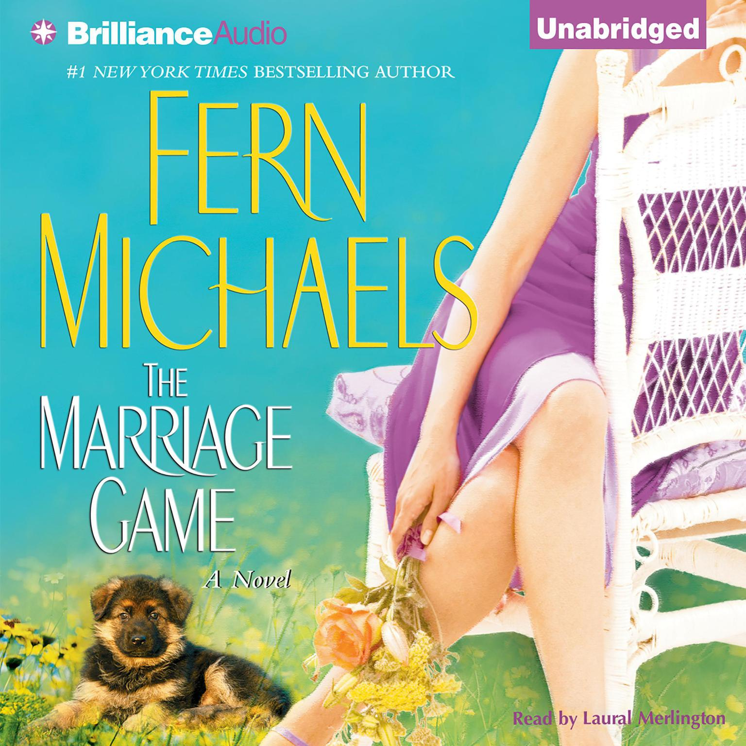 Printable The Marriage Game Audiobook Cover Art