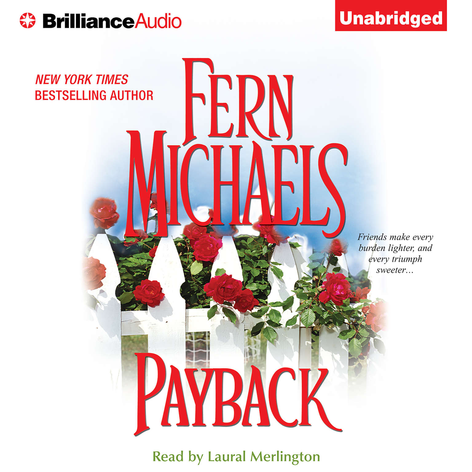 Printable Payback Audiobook Cover Art