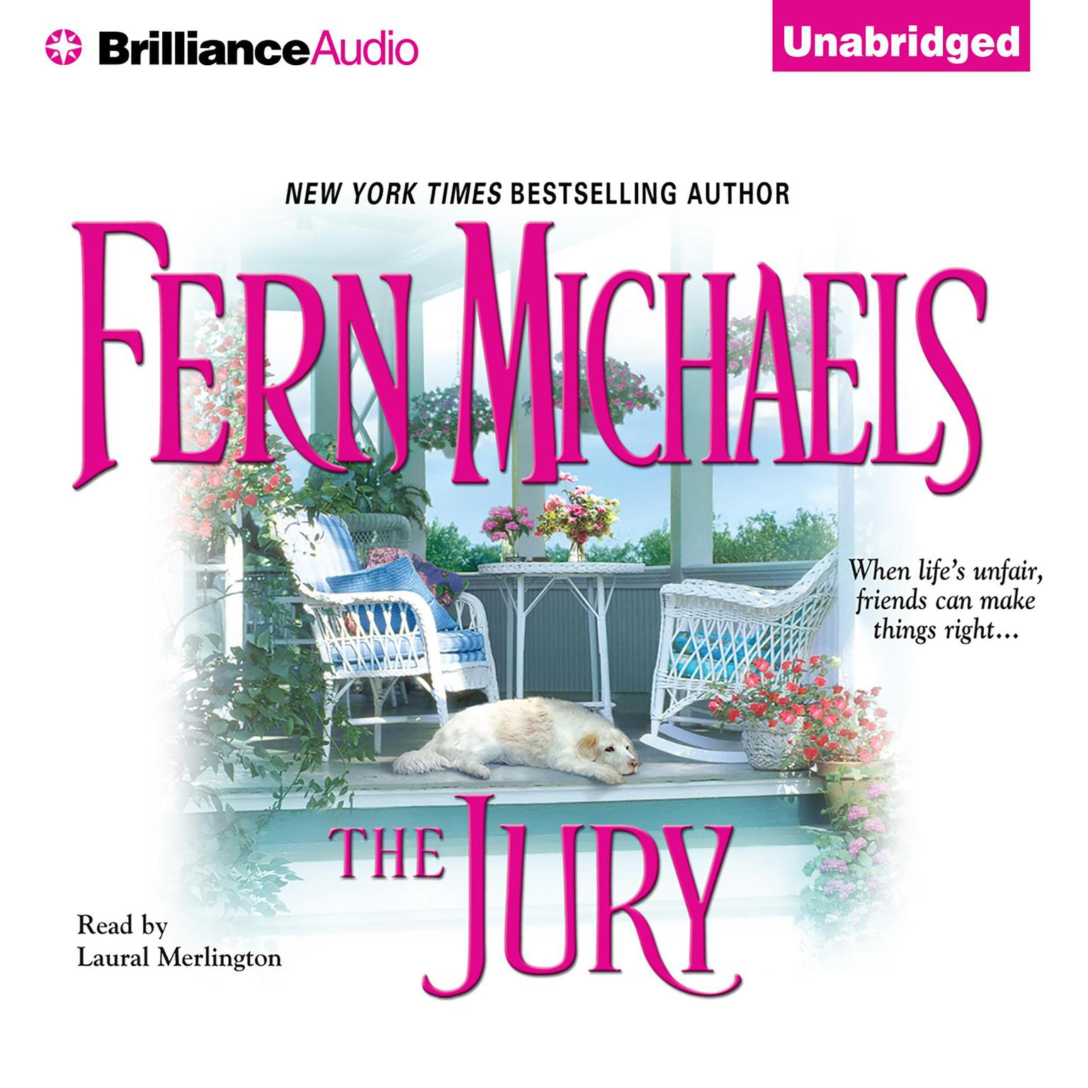 Printable The Jury Audiobook Cover Art