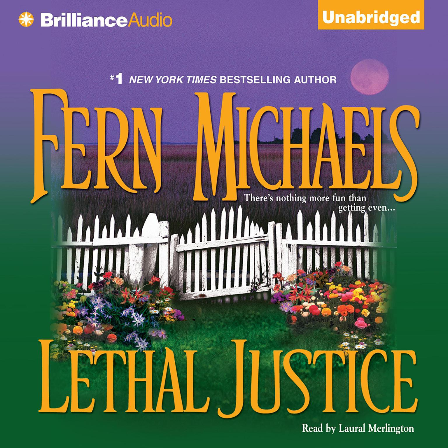 Printable Lethal Justice Audiobook Cover Art
