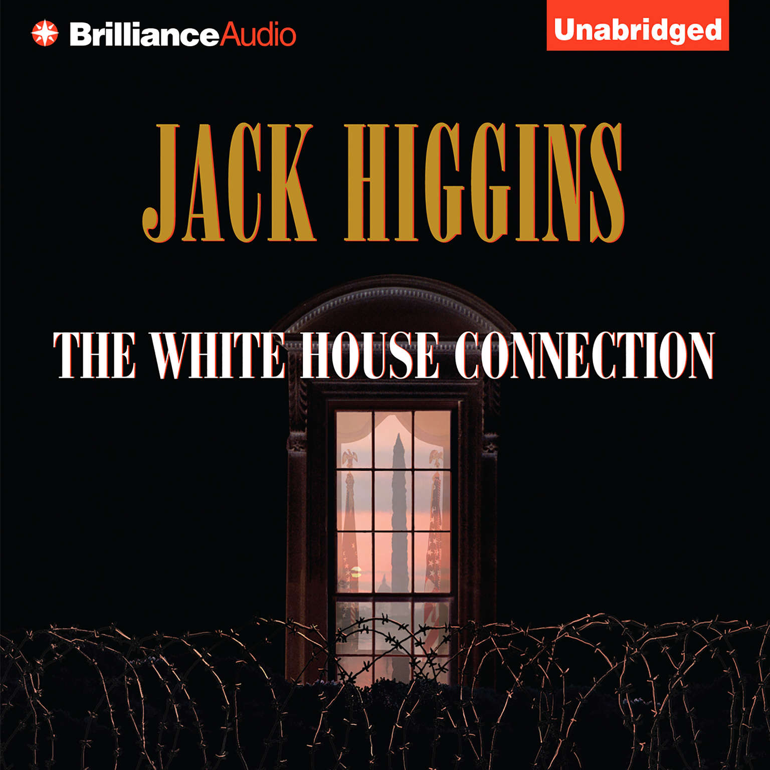 Printable The White House Connection Audiobook Cover Art