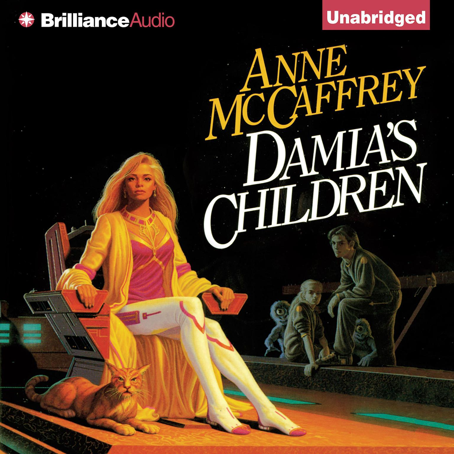 Printable Damia's Children Audiobook Cover Art