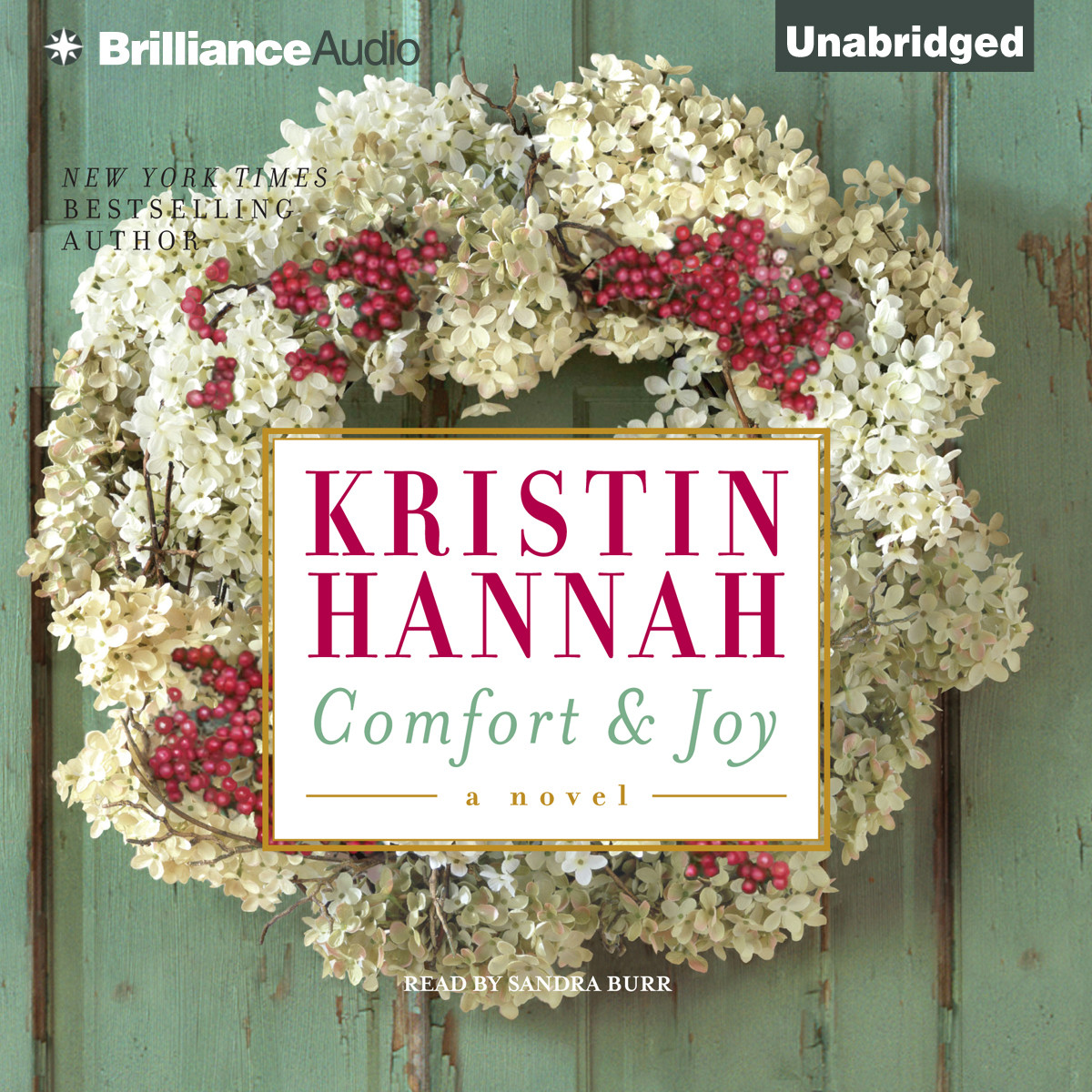 download comfort and joy audiobook by kristin hannah for just 5 95