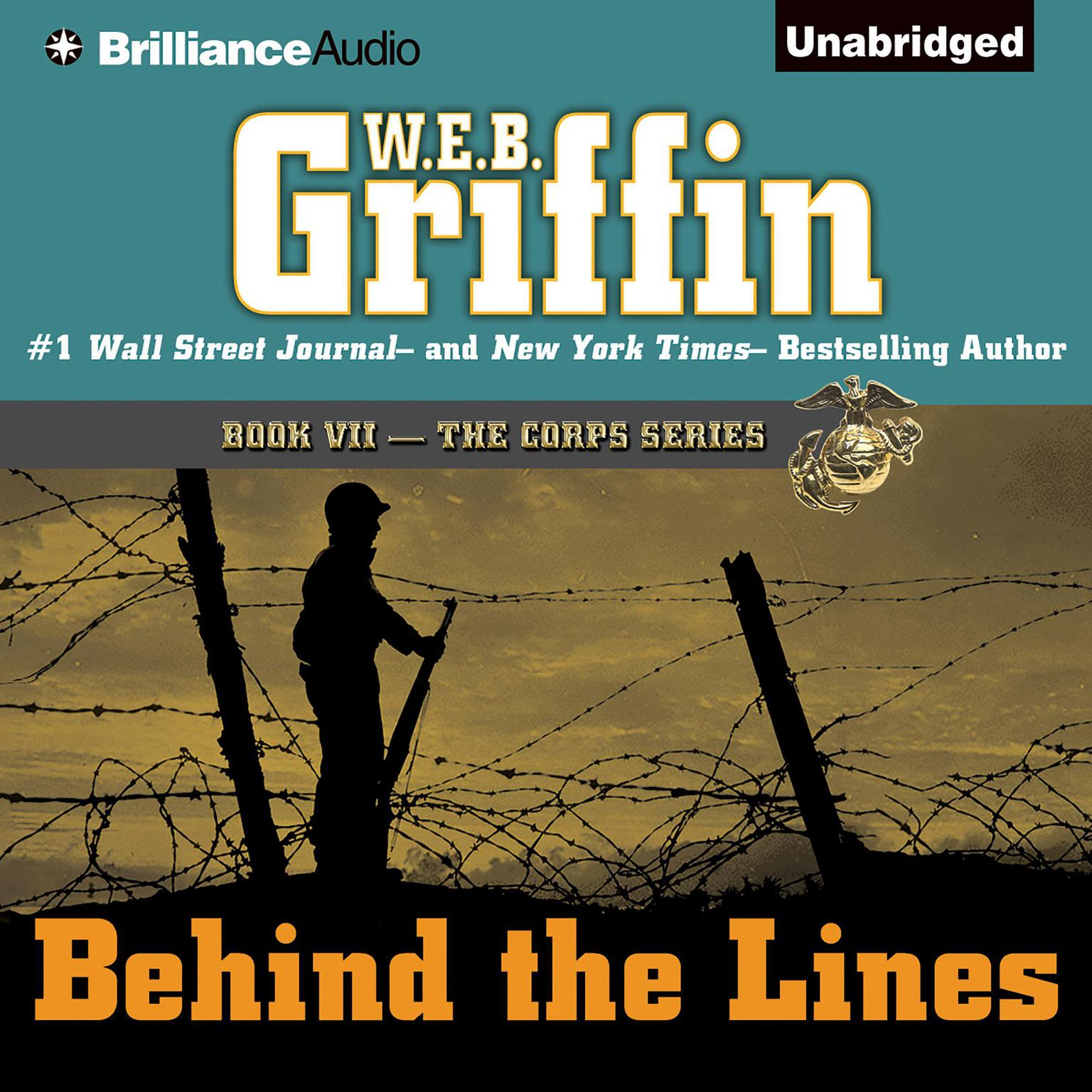 Printable Behind the Lines Audiobook Cover Art