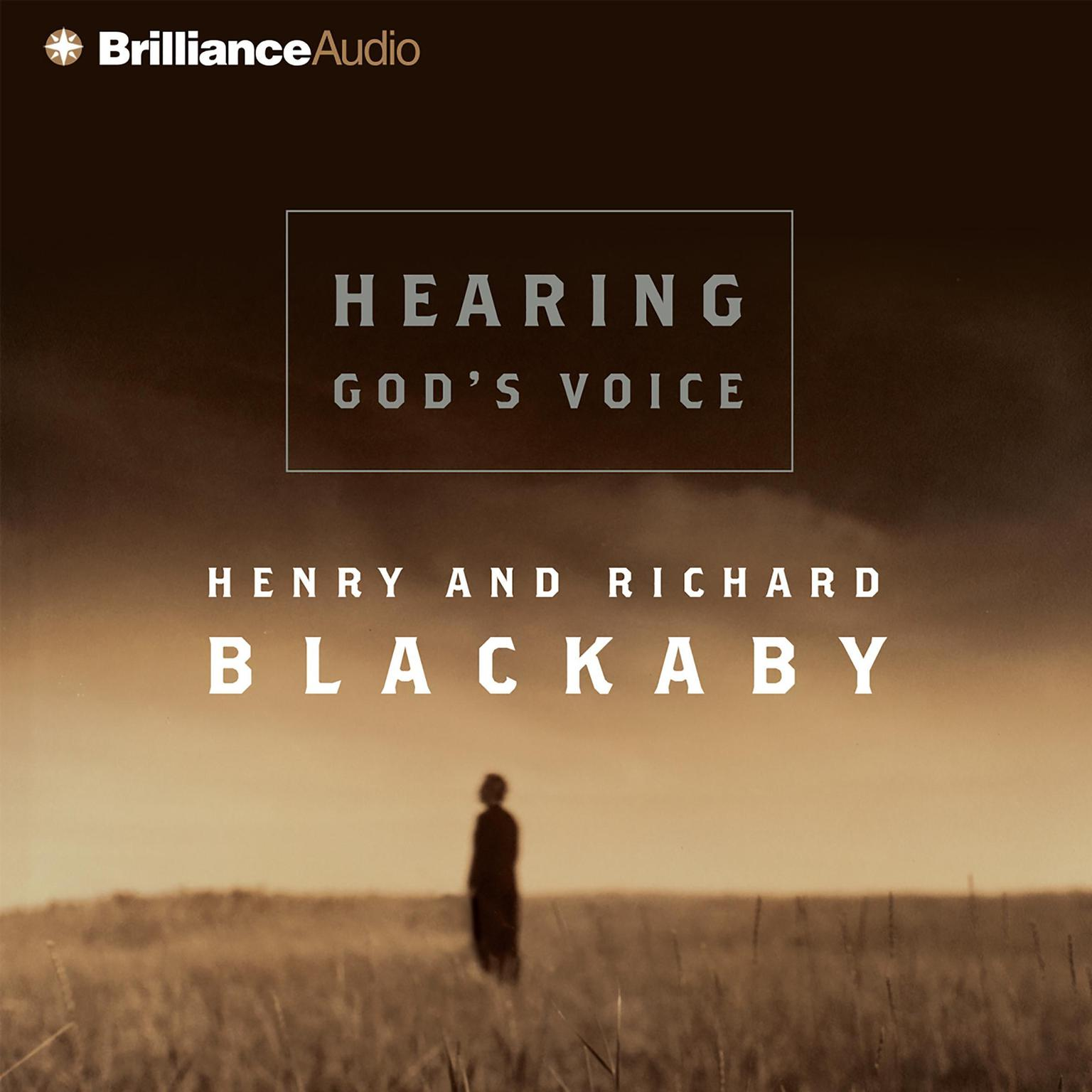 Printable Hearing God's Voice Audiobook Cover Art