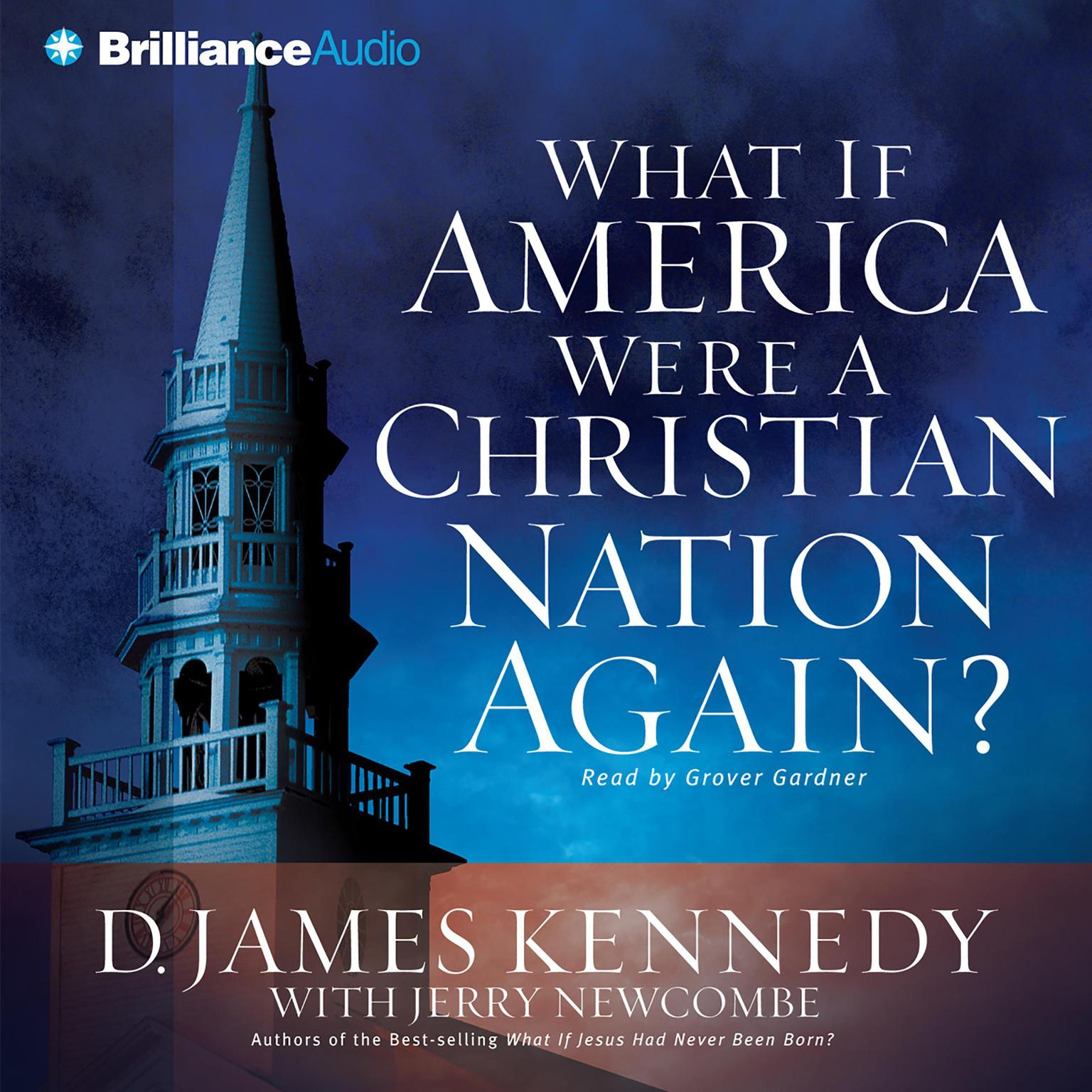 Printable What if America Were a Christian Nation Again? Audiobook Cover Art