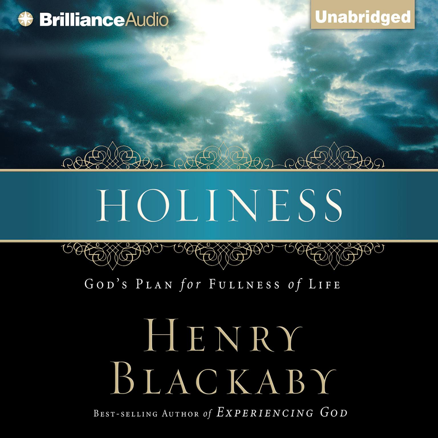 Printable Holiness: God's Plan for Fullness of Life Audiobook Cover Art