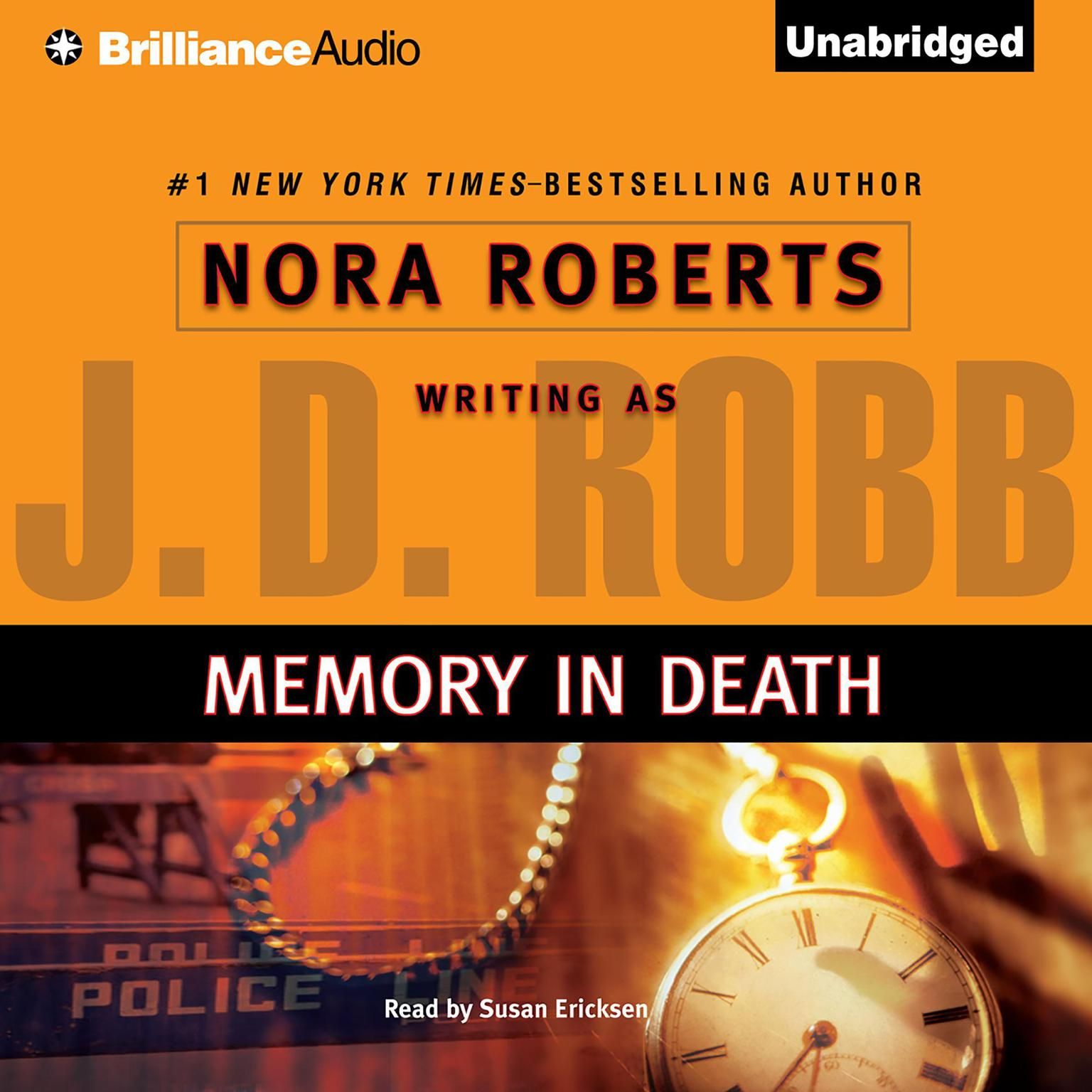 Printable Memory in Death Audiobook Cover Art