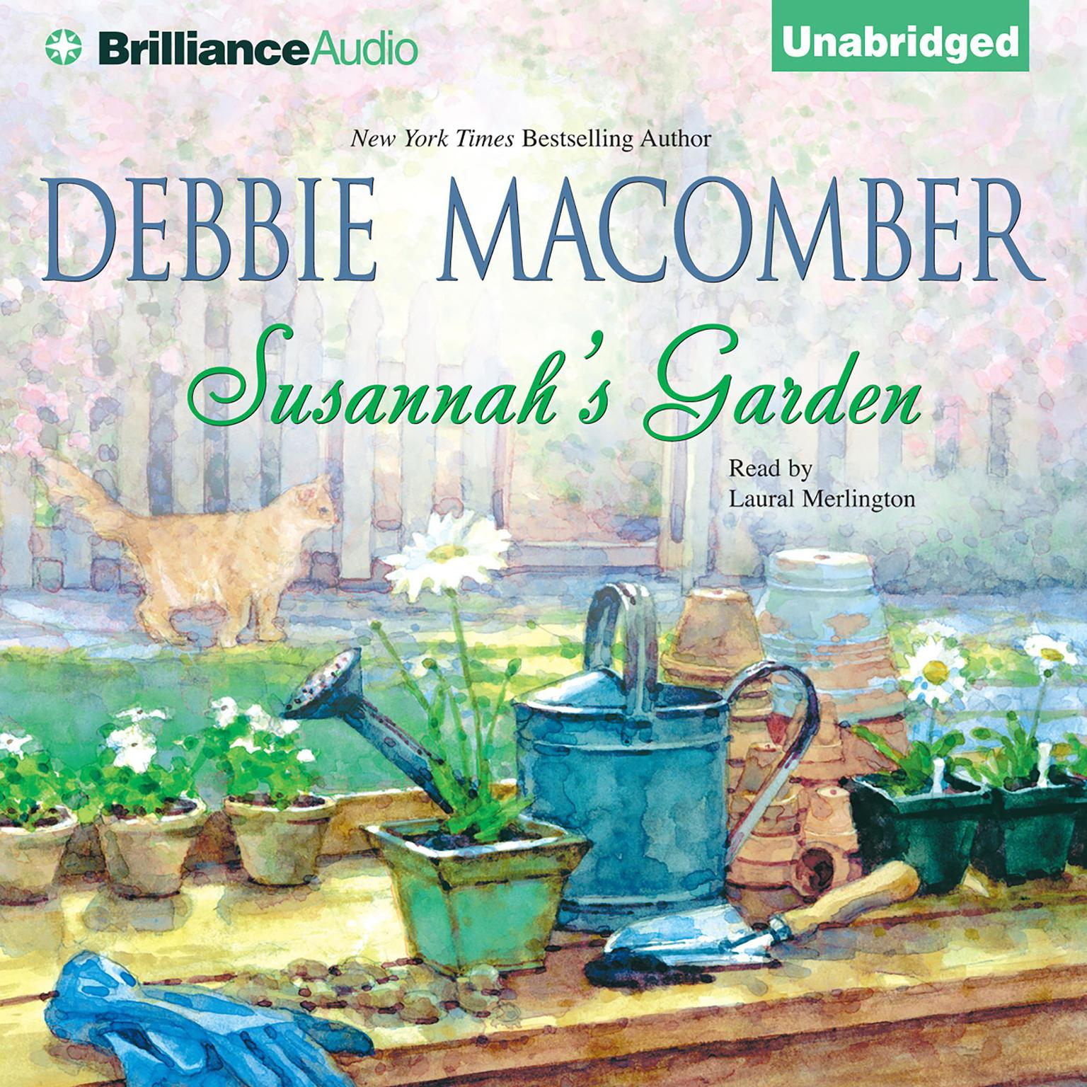 Printable Susannah's Garden Audiobook Cover Art