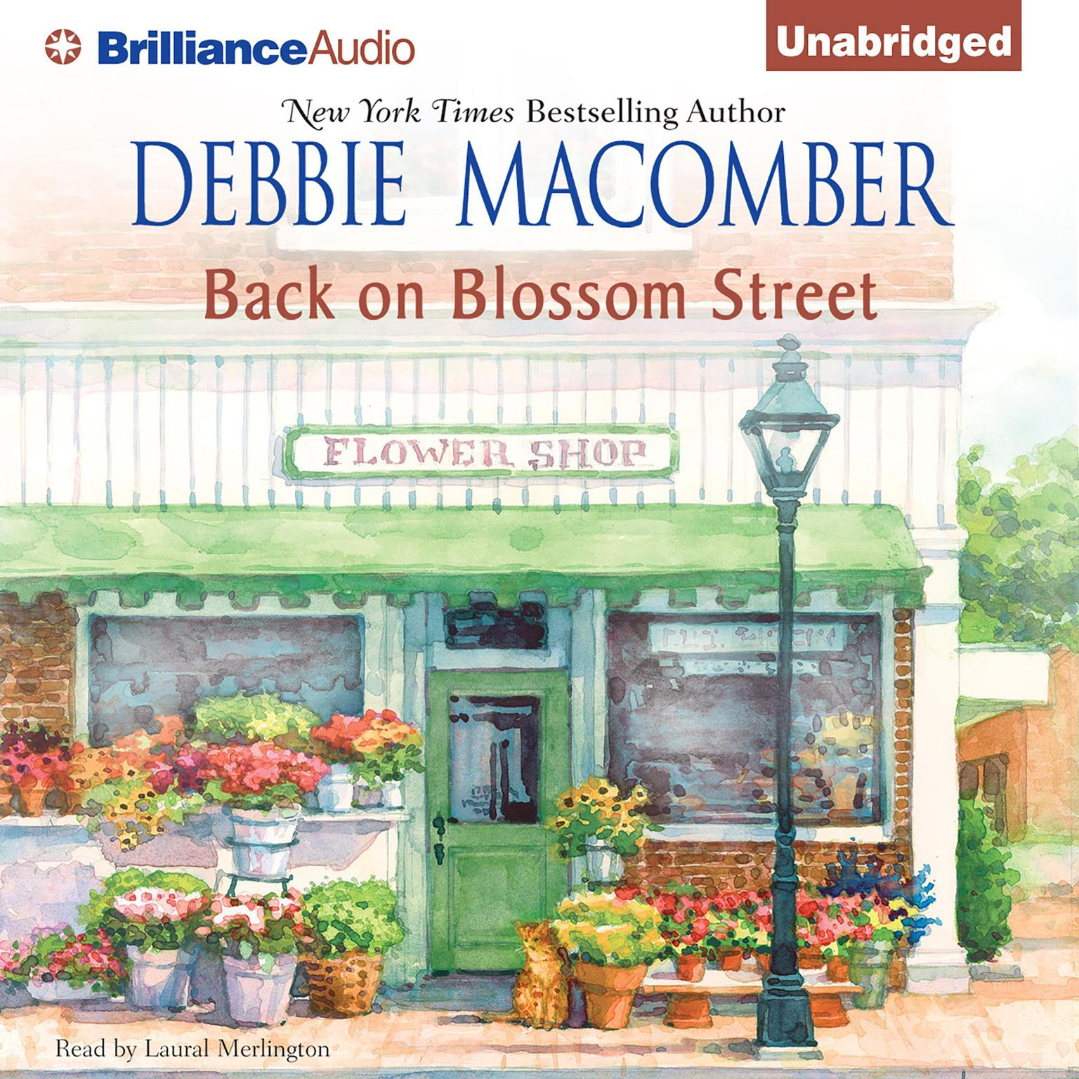 Printable Back on Blossom Street Audiobook Cover Art
