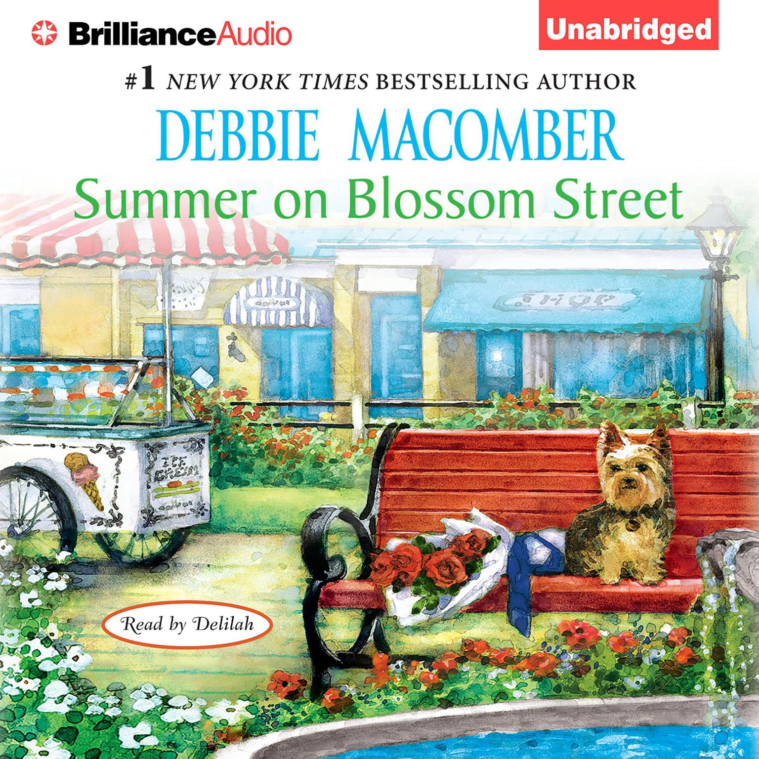 Printable Summer on Blossom Street Audiobook Cover Art