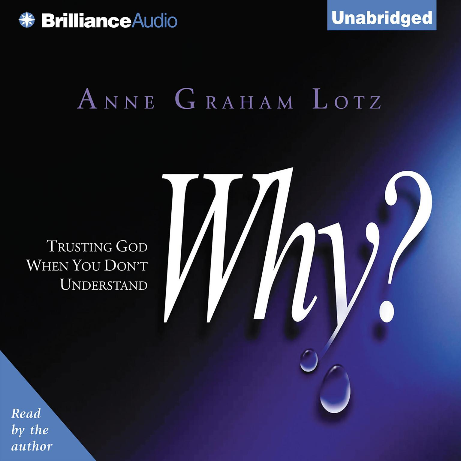 Printable Why?: Trusting God When You Don't Understand Audiobook Cover Art