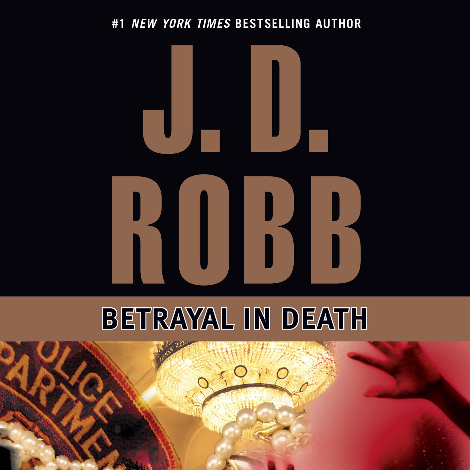 Printable Betrayal in Death Audiobook Cover Art