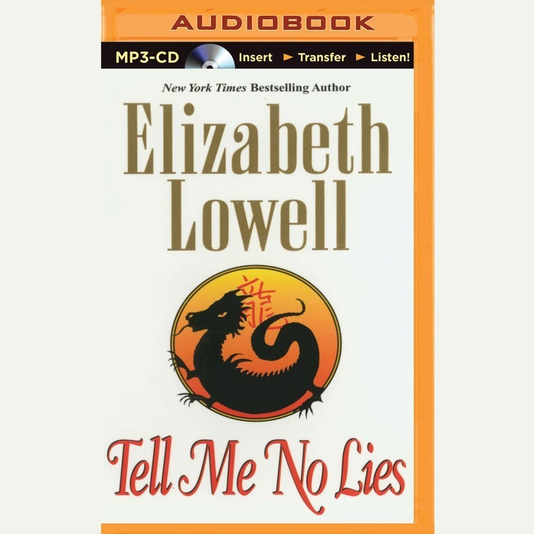 Printable Tell Me No Lies Audiobook Cover Art