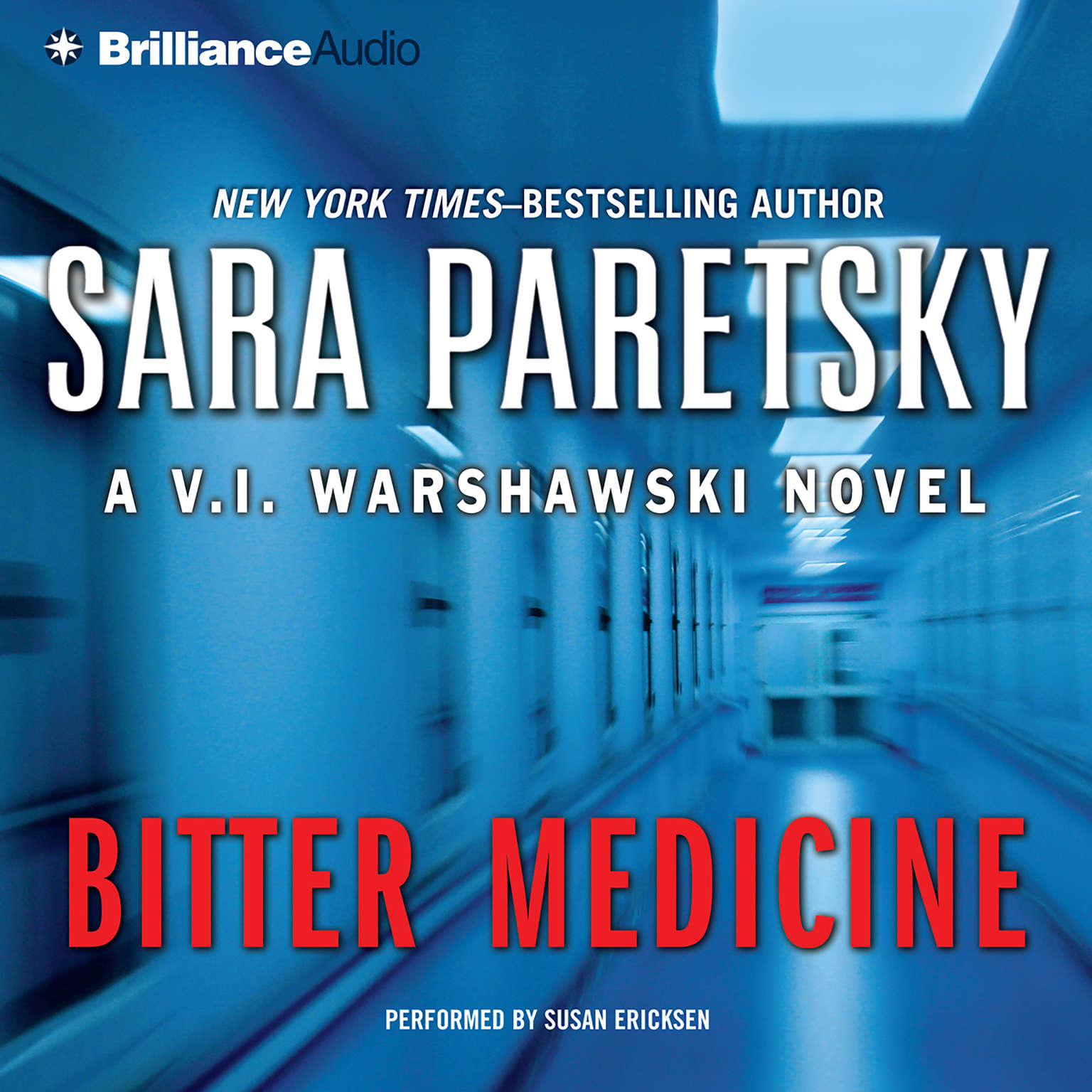 Printable Bitter Medicine Audiobook Cover Art
