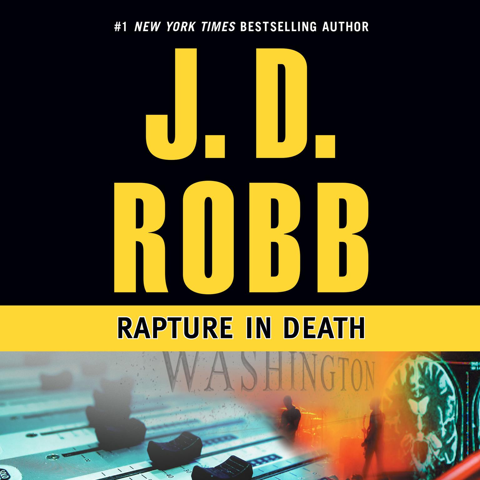 Printable Rapture in Death Audiobook Cover Art