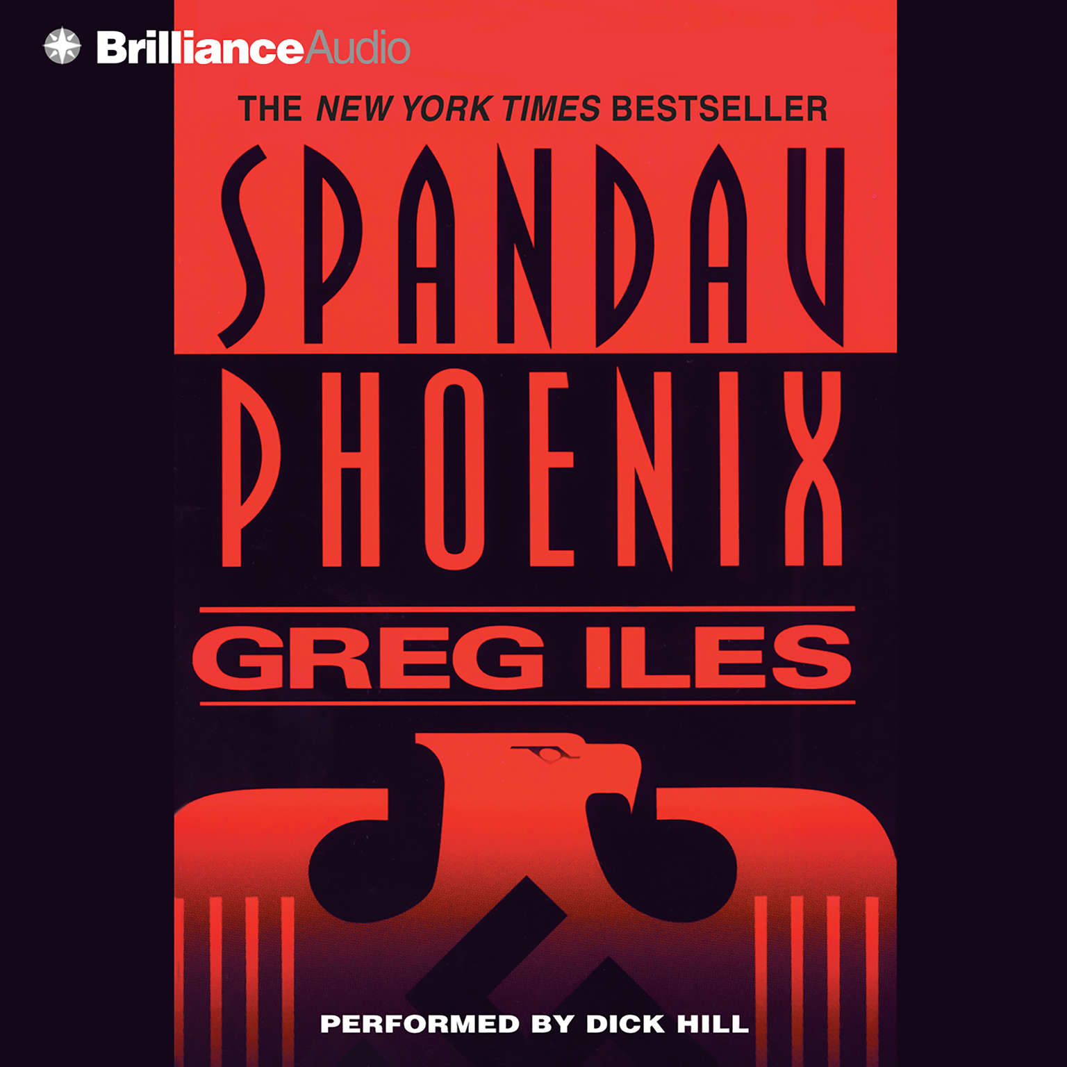 Printable Spandau Phoenix Audiobook Cover Art