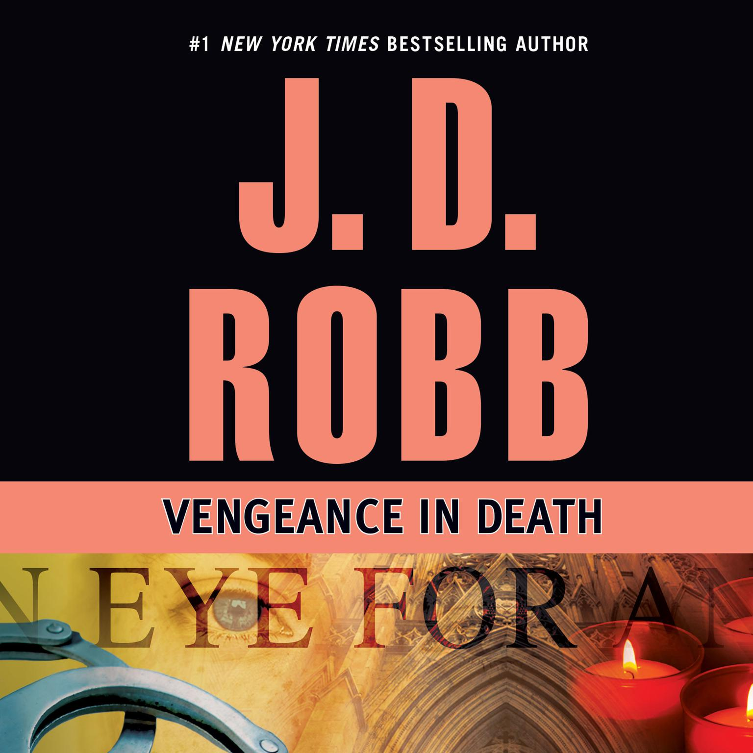 Printable Vengeance in Death Audiobook Cover Art