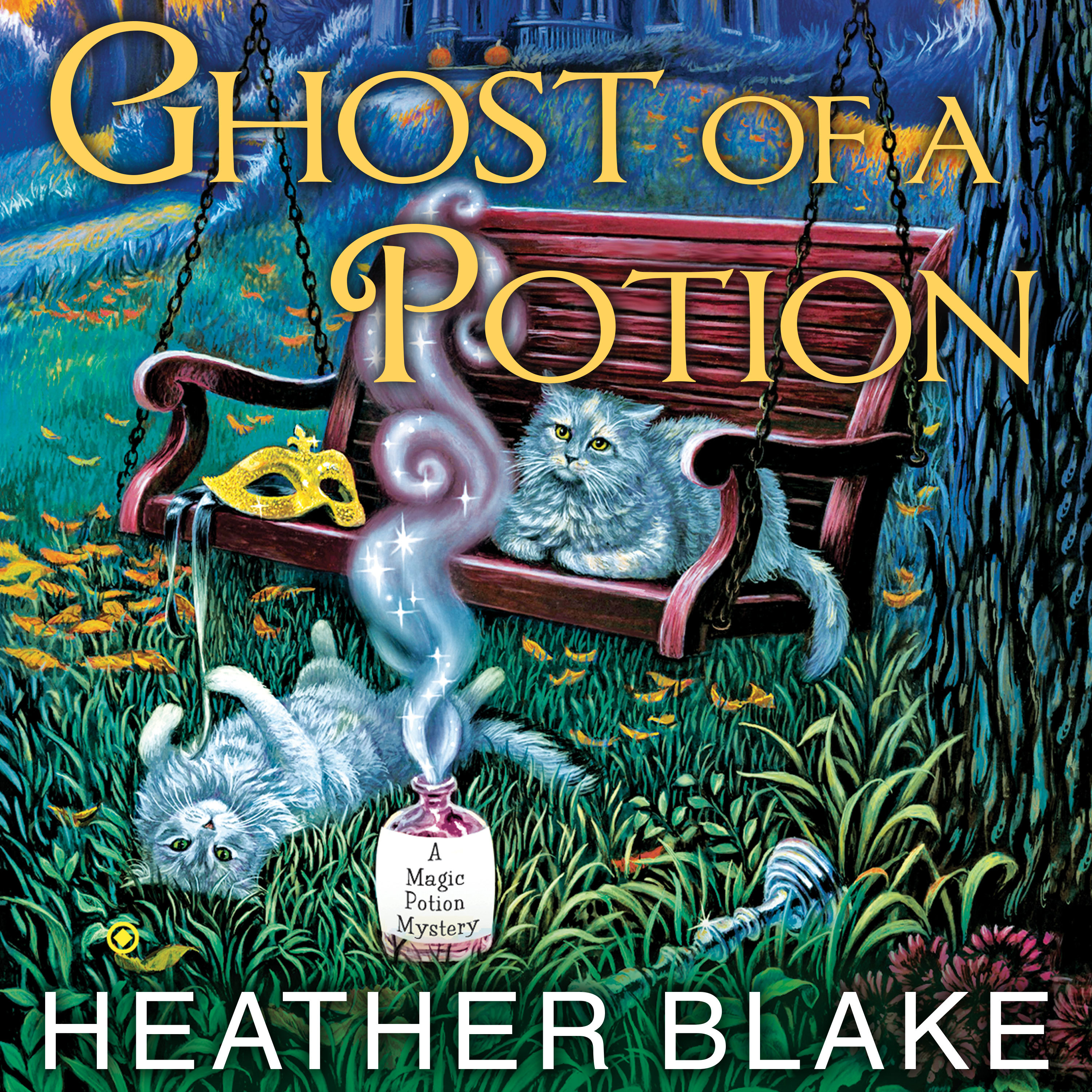 Printable Ghost of a Potion Audiobook Cover Art