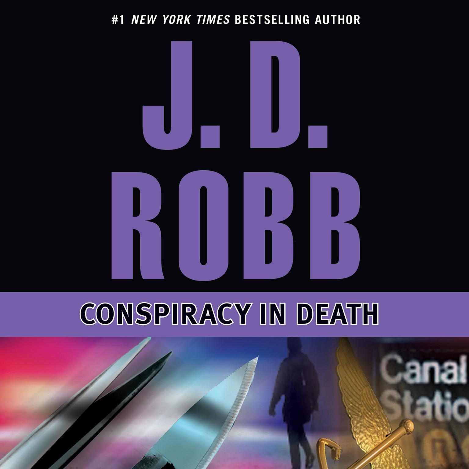 Printable Conspiracy in Death Audiobook Cover Art