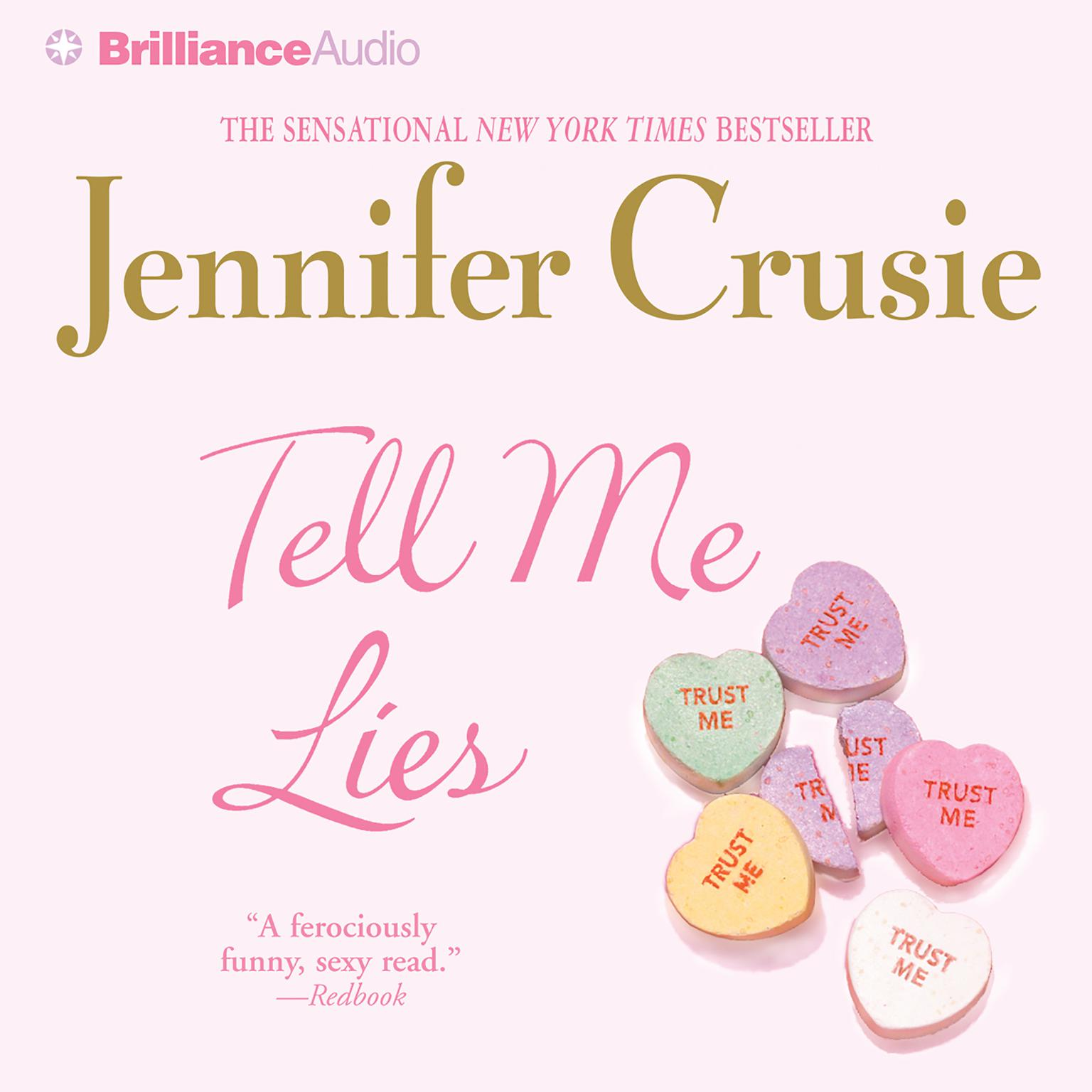 Printable Tell Me Lies Audiobook Cover Art