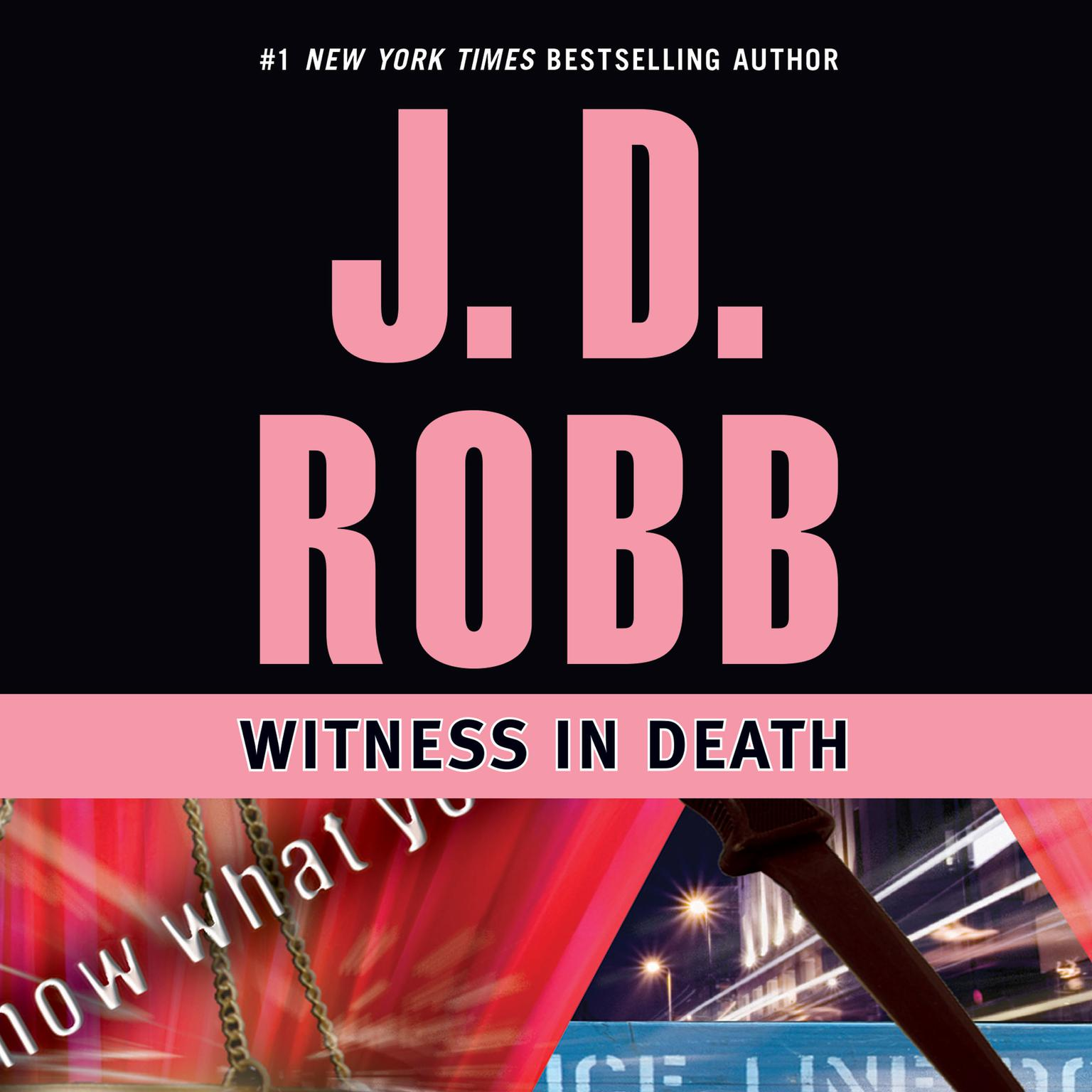 Printable Witness in Death Audiobook Cover Art