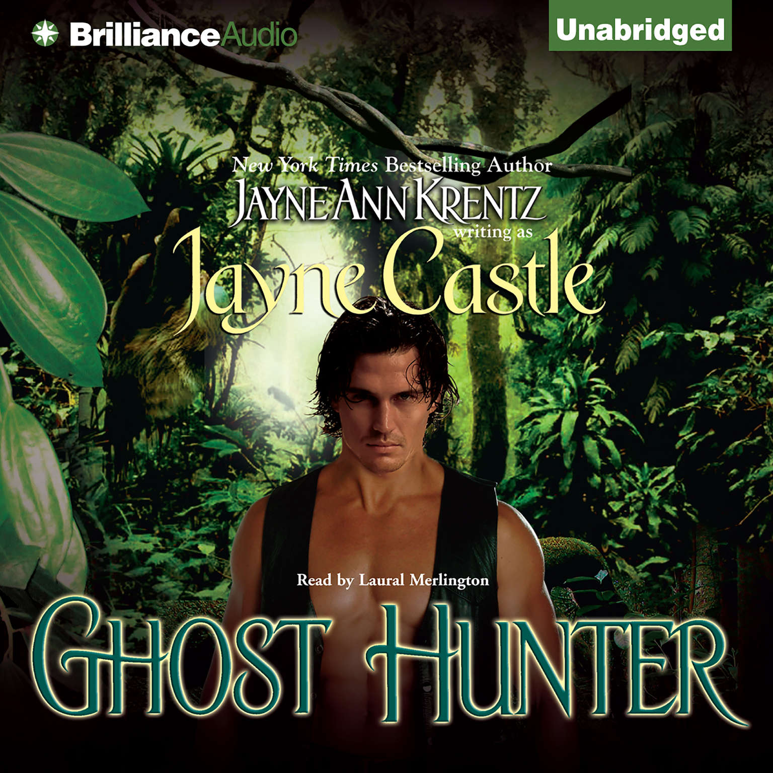 Printable Ghost Hunter Audiobook Cover Art