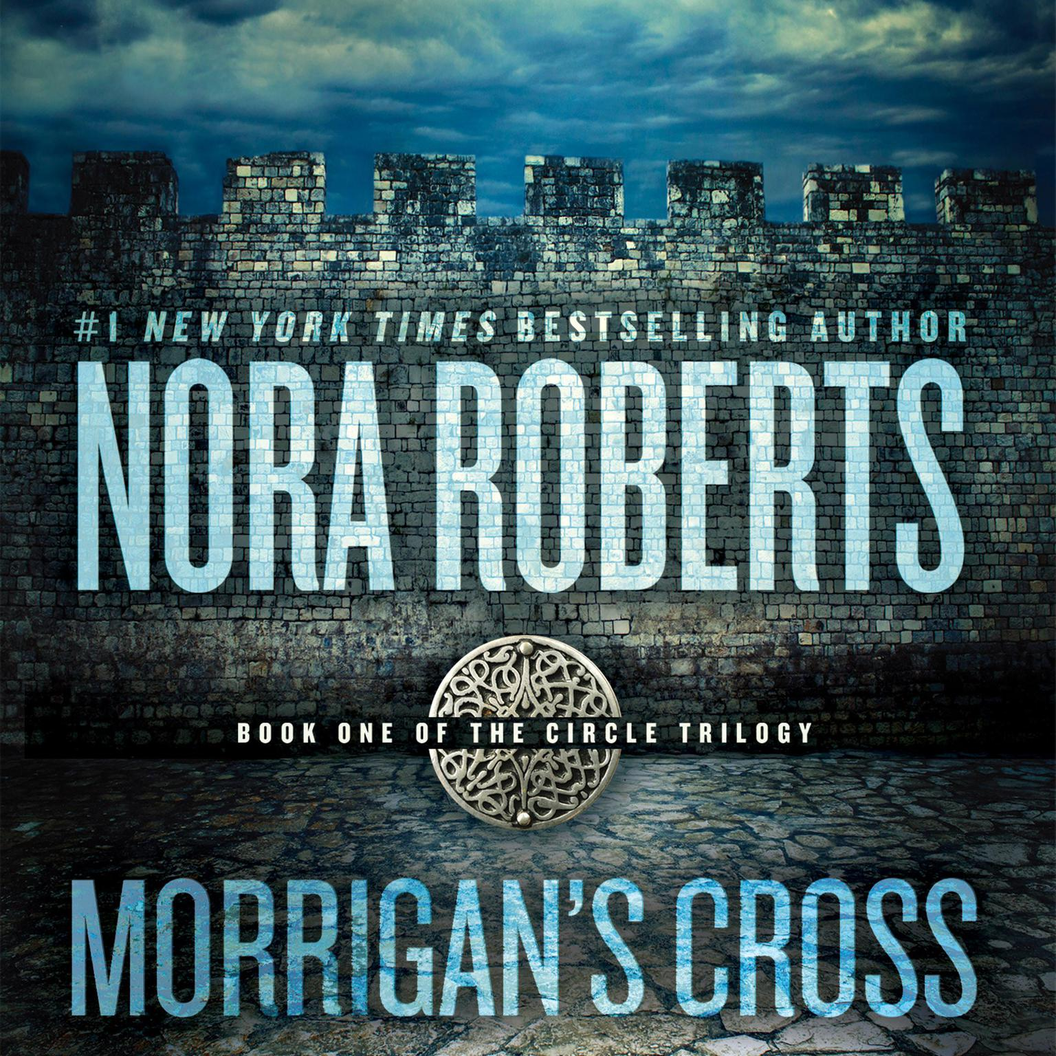 Printable Morrigan's Cross Audiobook Cover Art