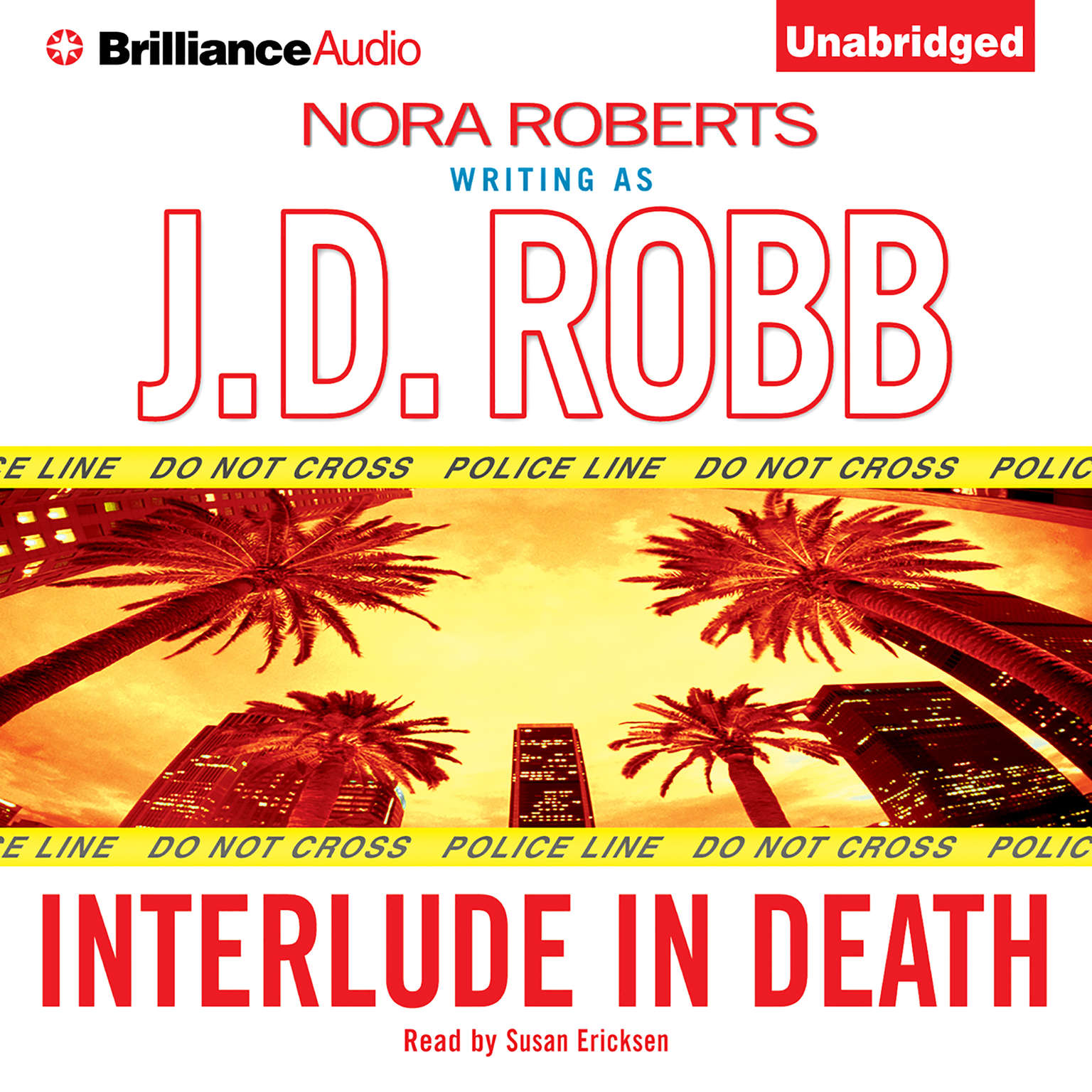 Printable Interlude in Death Audiobook Cover Art