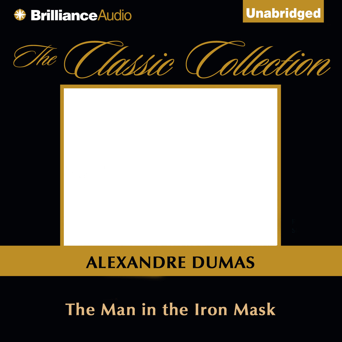 Printable The Man in the Iron Mask Audiobook Cover Art