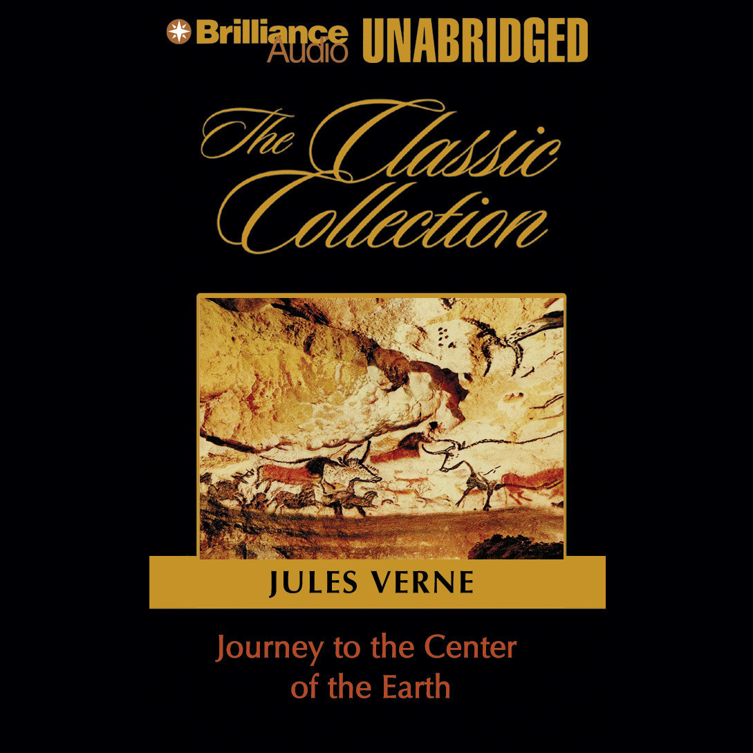 Printable Journey to the Center of the Earth Audiobook Cover Art