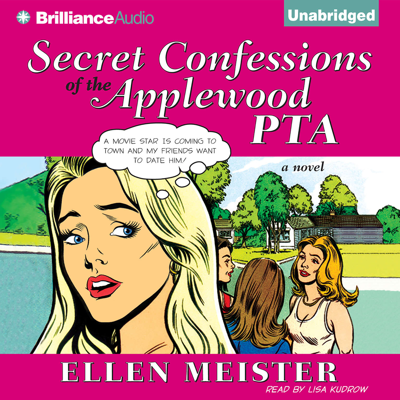 Printable Secret Confessions of the Applewood PTA Audiobook Cover Art