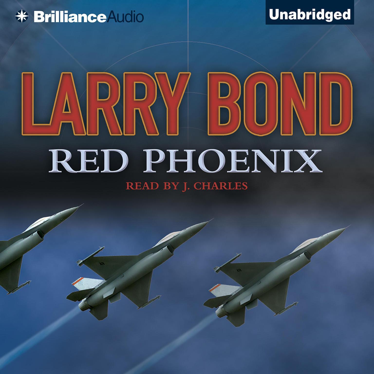 Printable Red Phoenix Audiobook Cover Art