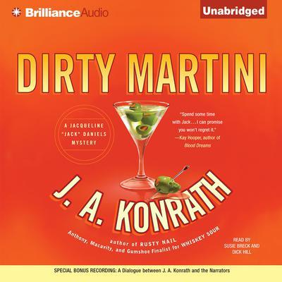 Dirty Martini Audiobook, by J. A. Konrath