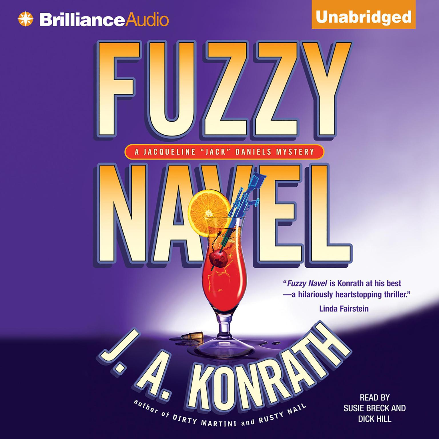 Printable Fuzzy Navel Audiobook Cover Art