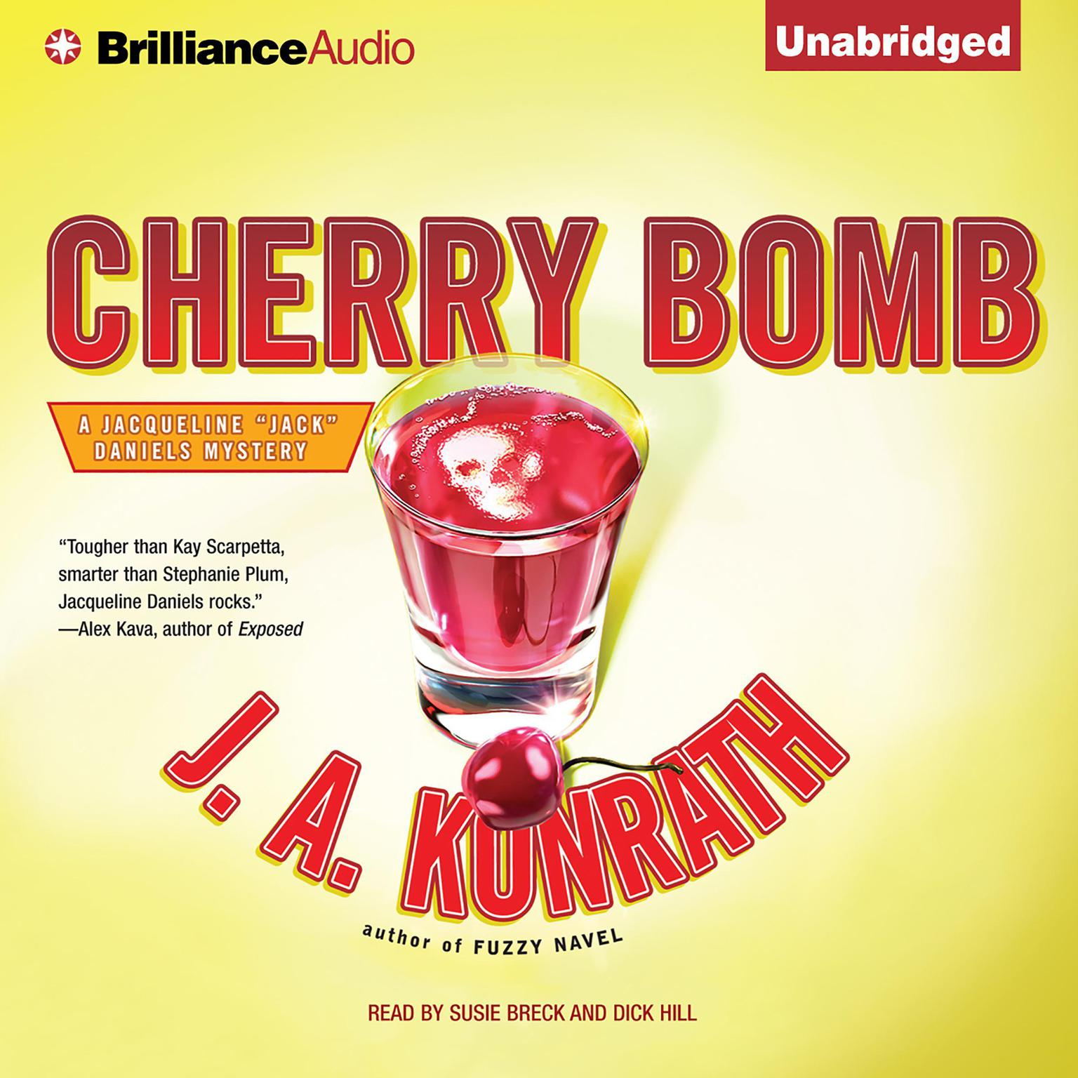 Printable Cherry Bomb Audiobook Cover Art