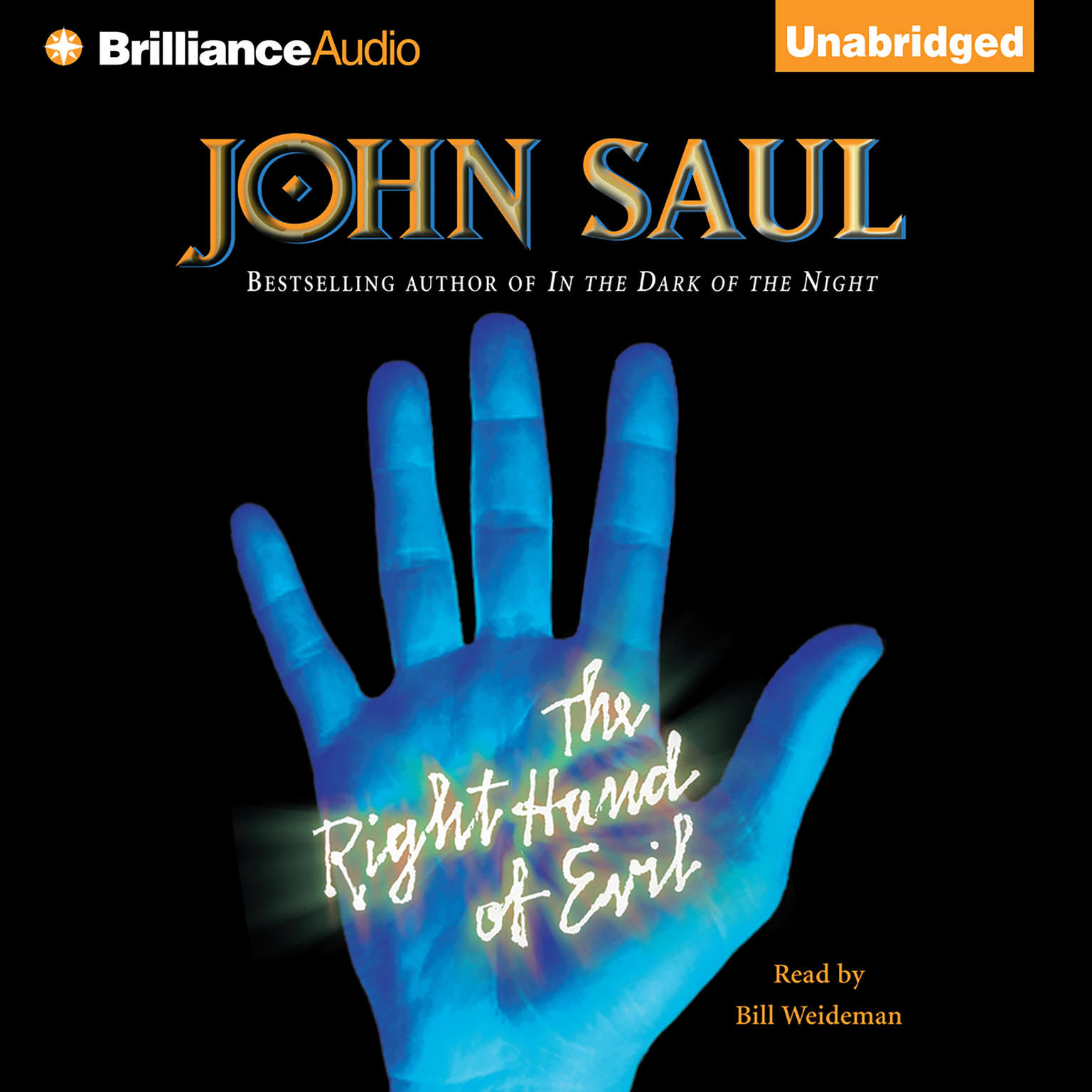 Printable The Right Hand of Evil Audiobook Cover Art