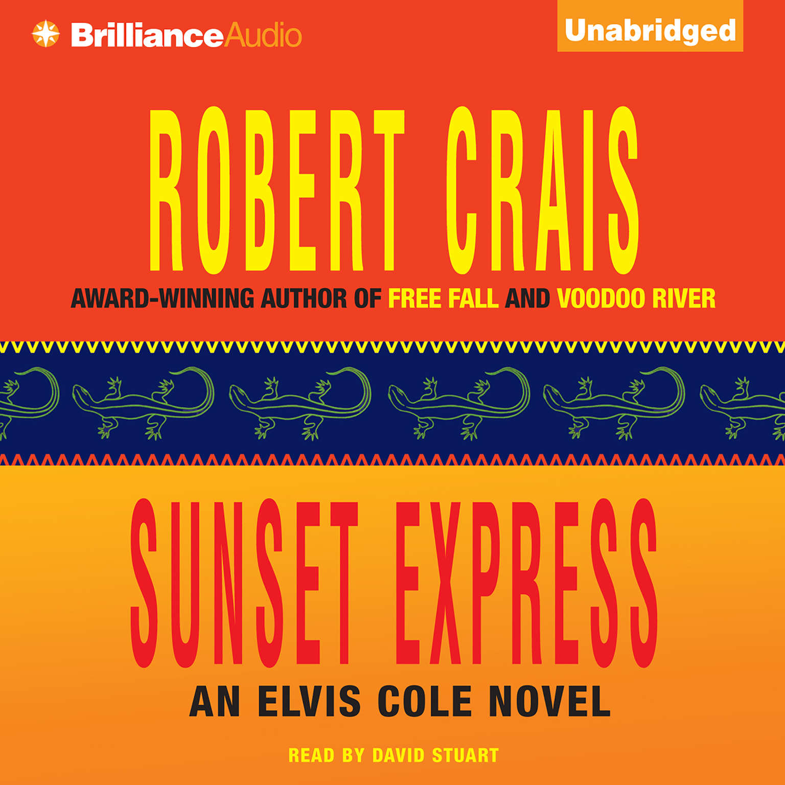 Printable Sunset Express Audiobook Cover Art