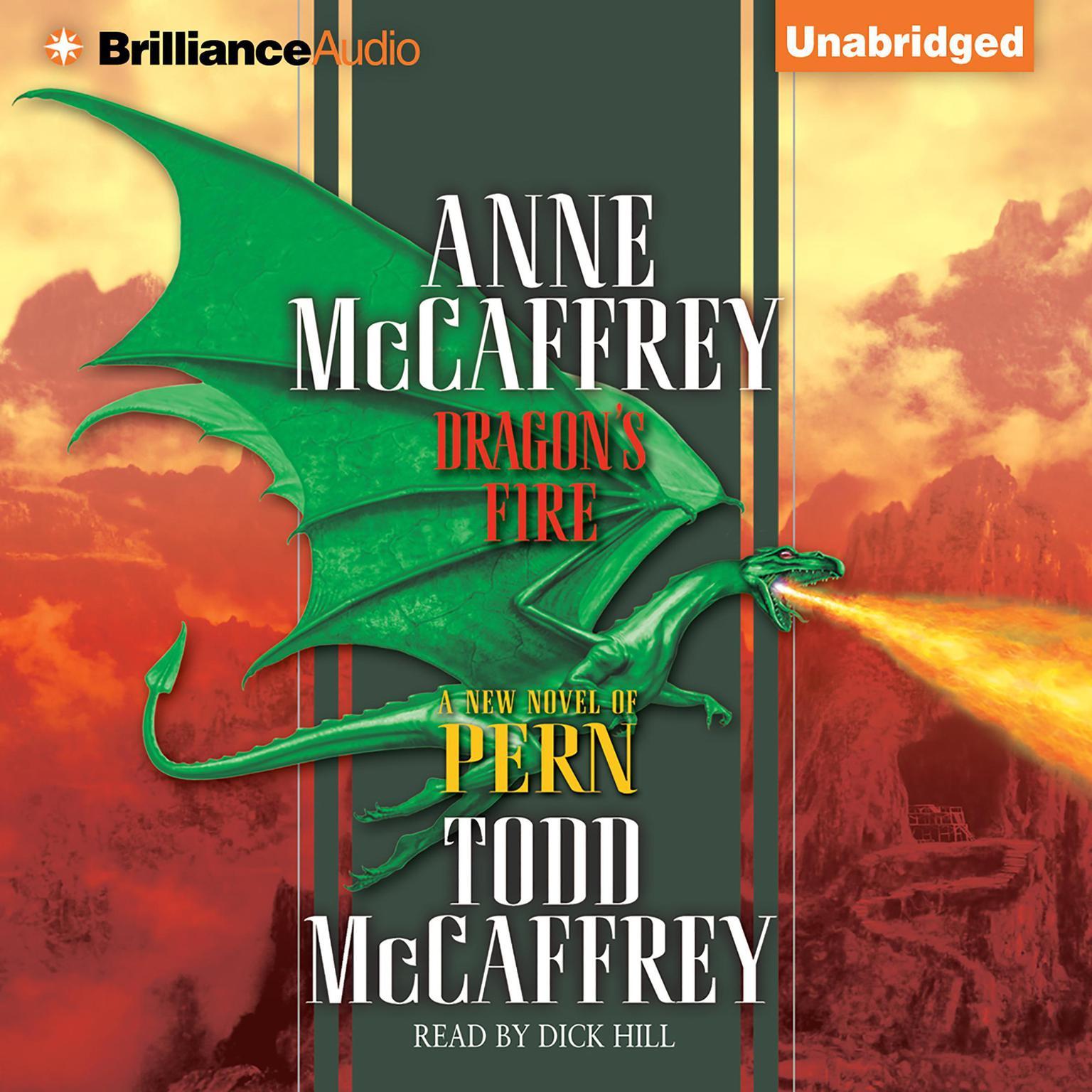 Printable Dragon's Fire Audiobook Cover Art