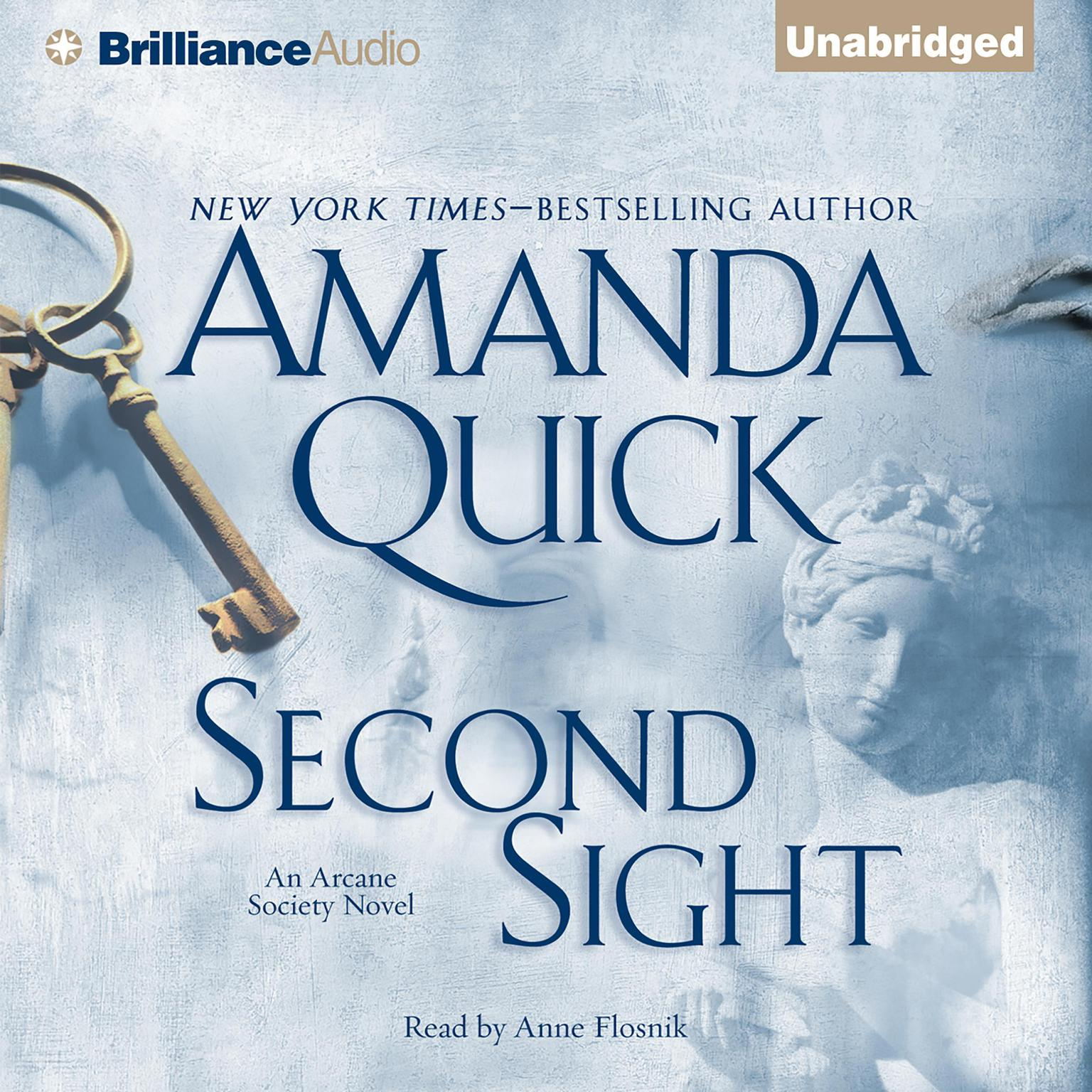 Printable Second Sight Audiobook Cover Art