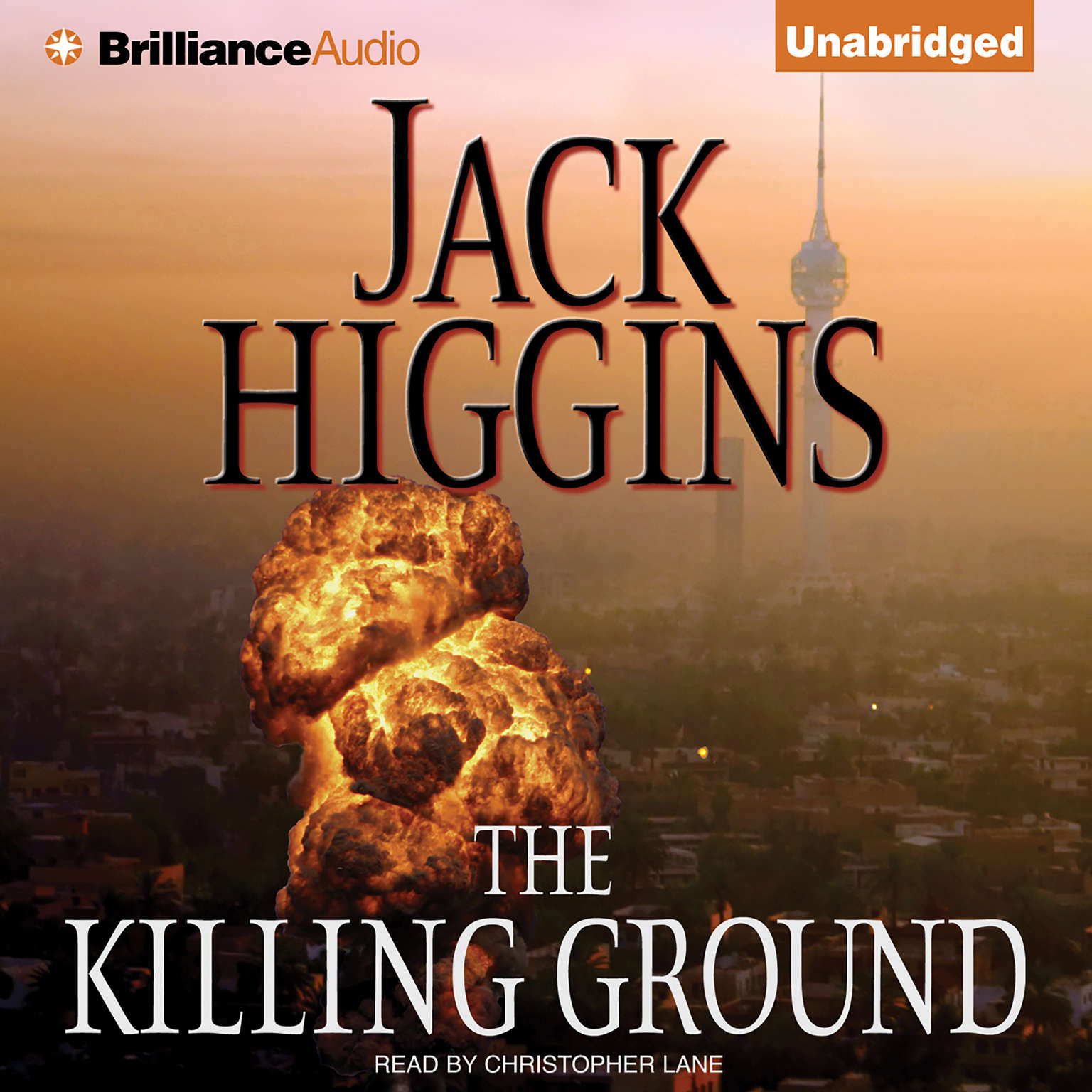 Printable The Killing Ground Audiobook Cover Art