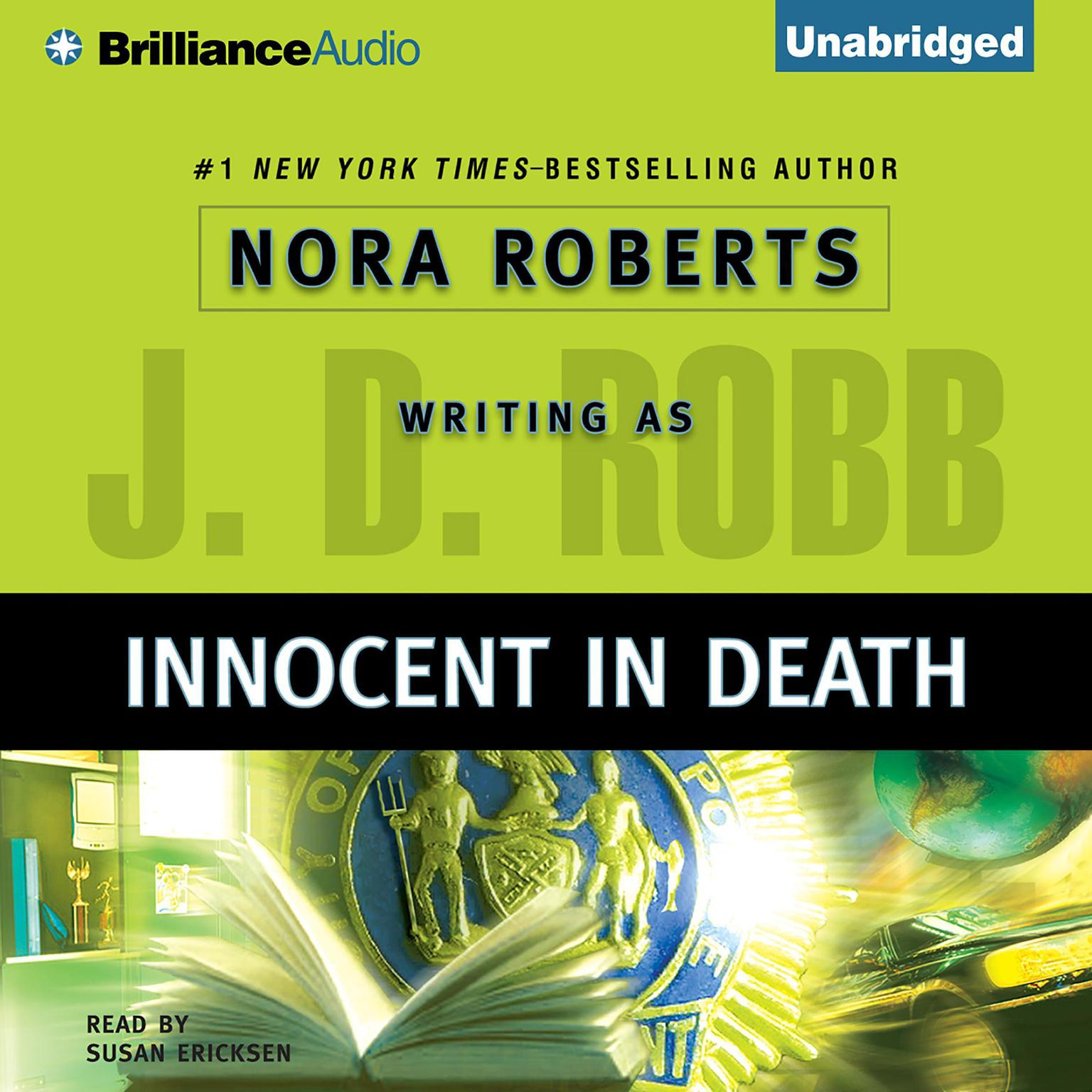 Printable Innocent in Death Audiobook Cover Art